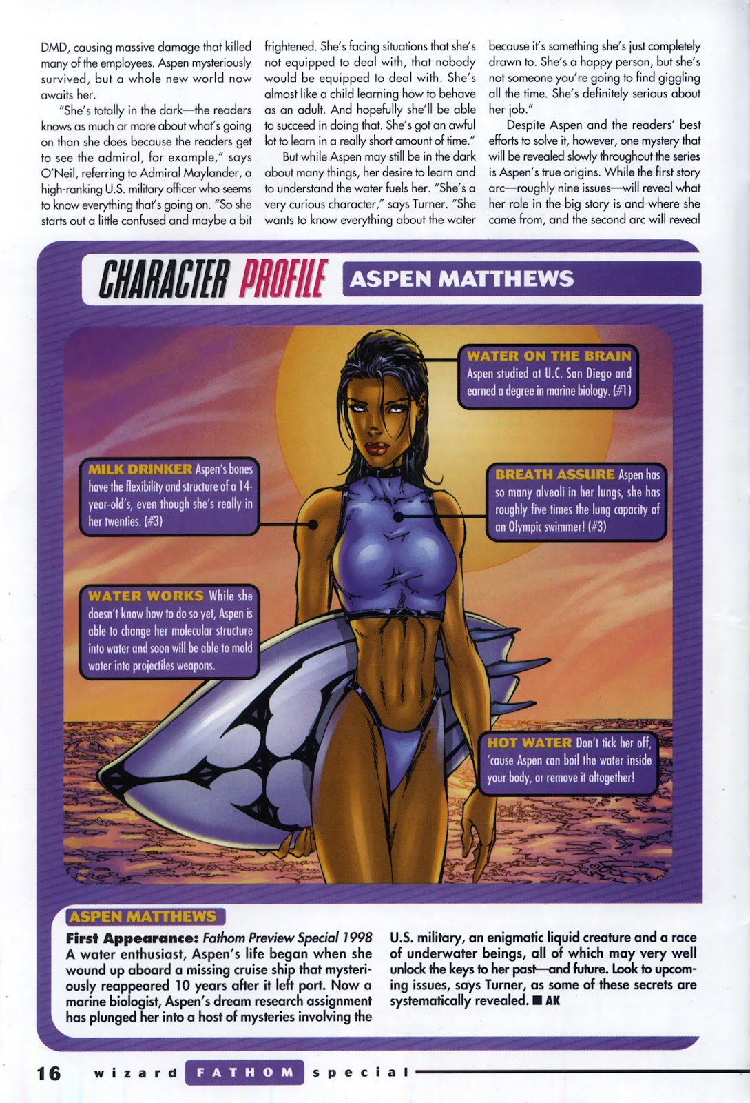 Read online Fathom Special comic -  Issue # Full - 11