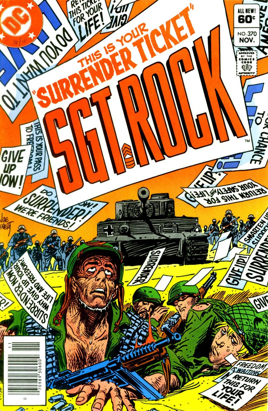 Read online Sgt. Rock comic -  Issue #370 - 1