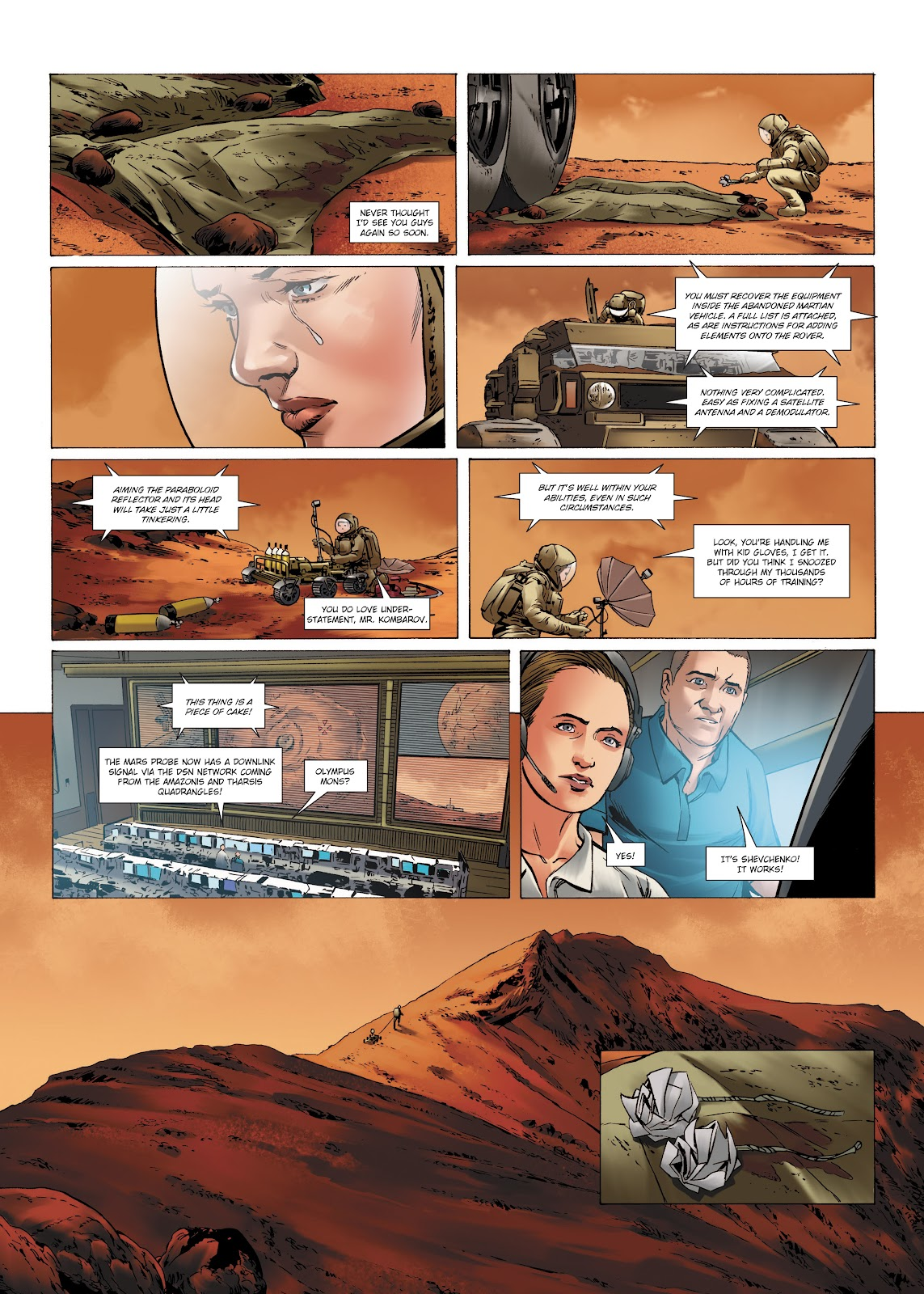 Read online Olympus Mons Vol. 1: Anomaly One comic -  Issue #4 - 17