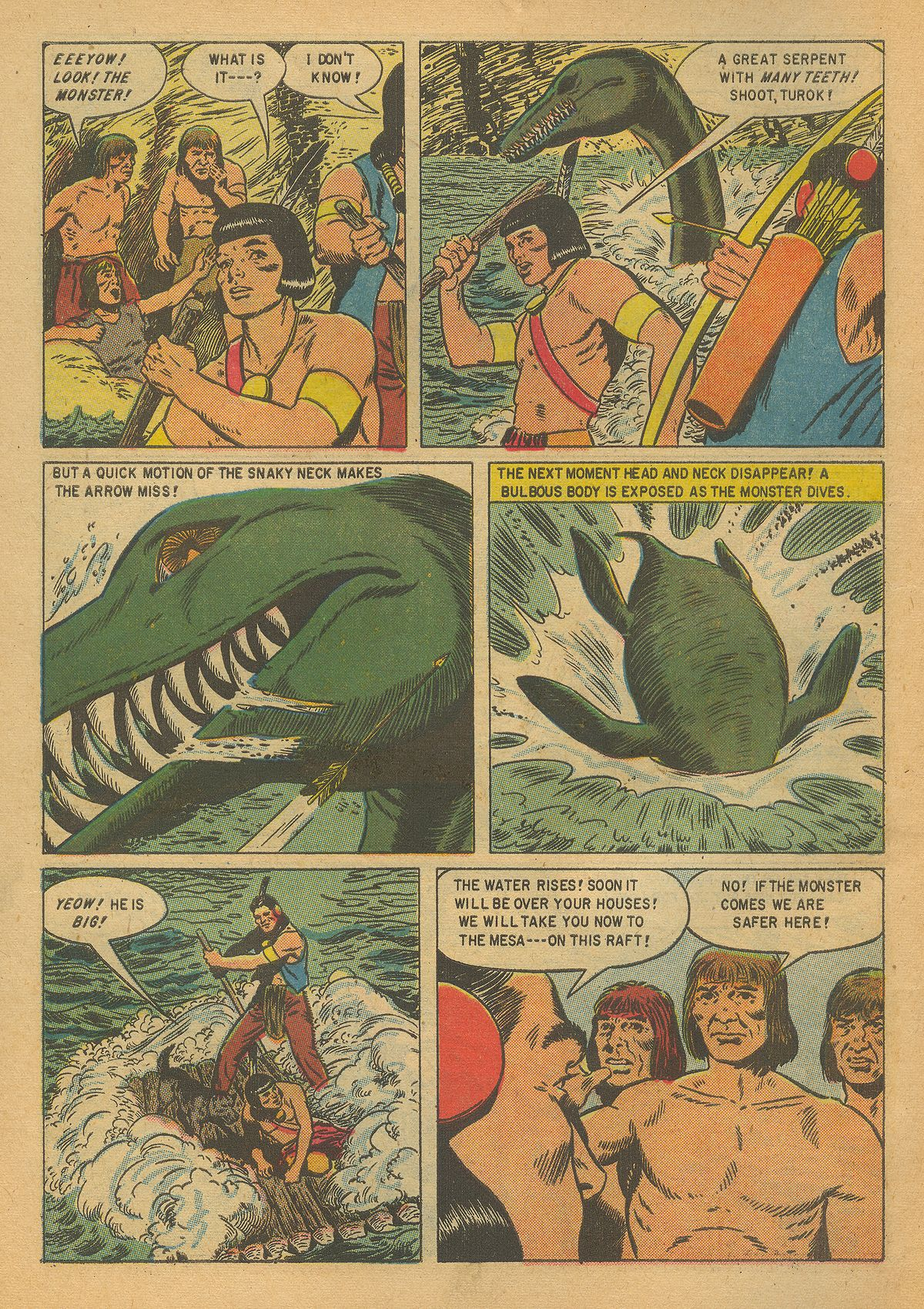 Read online Turok, Son of Stone comic -  Issue #8 - 6