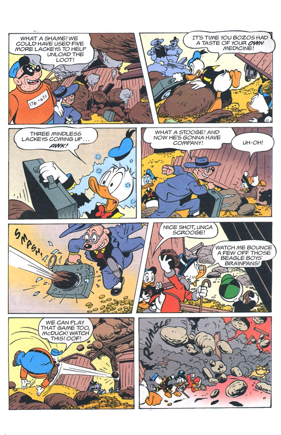 Read online Uncle Scrooge (1953) comic -  Issue #301 - 26