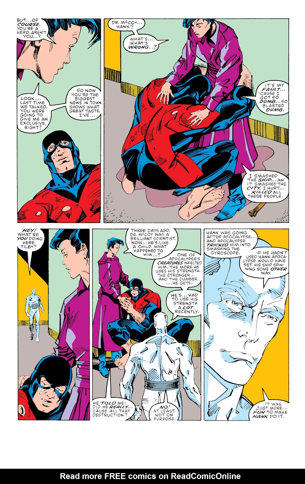 Read online X-Men Milestones: Fall of the Mutants comic -  Issue # TPB (Part 3) - 59