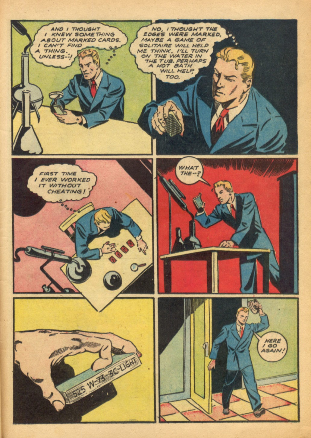 Read online Super-Magician Comics comic -  Issue #6 - 46