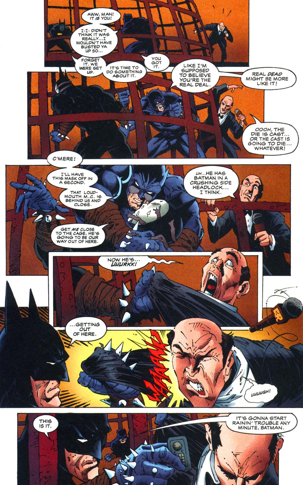 Read online Batman/Wildcat comic -  Issue #3 - 8