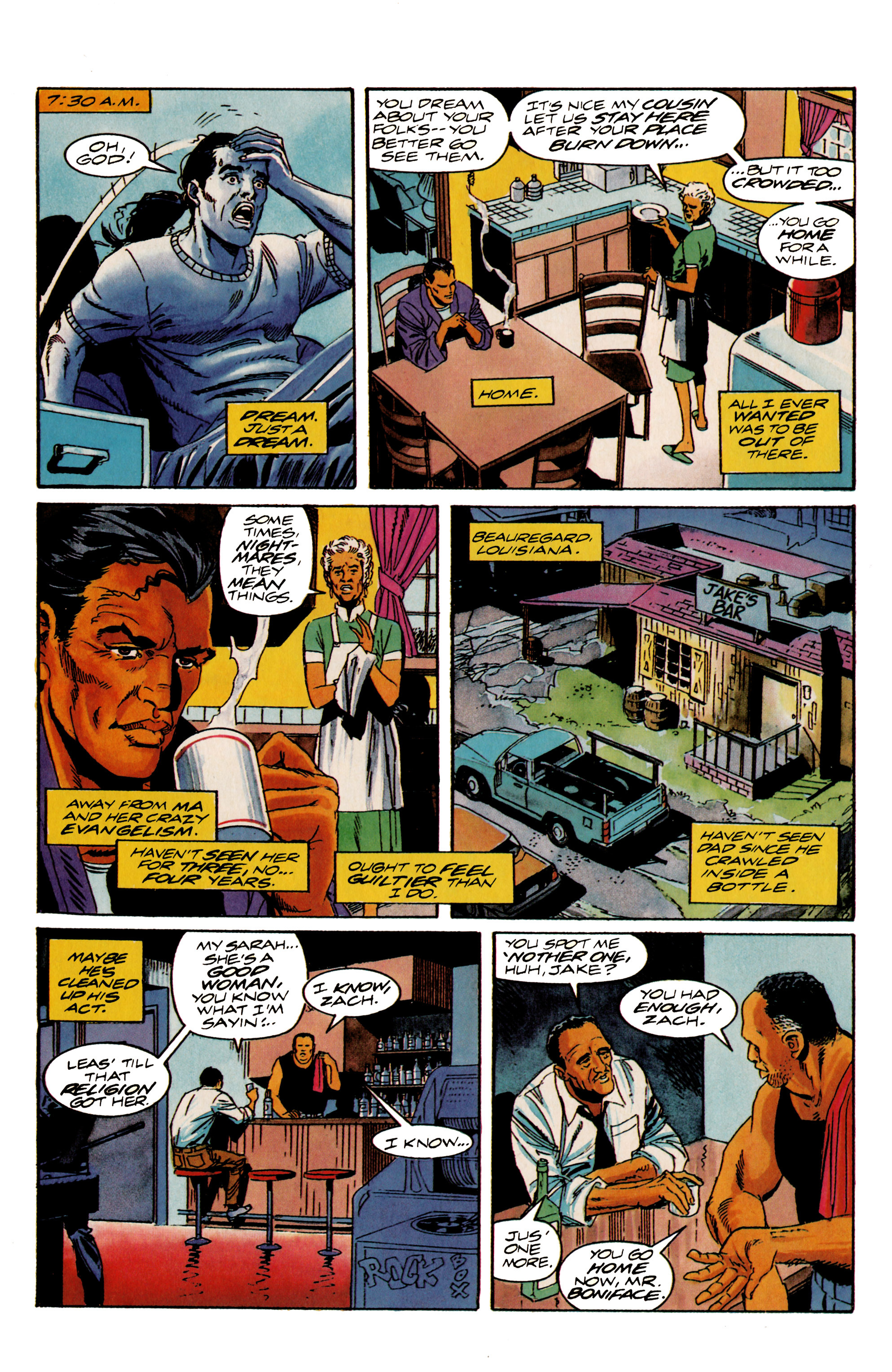 Read online Shadowman (1992) comic -  Issue #20 - 4