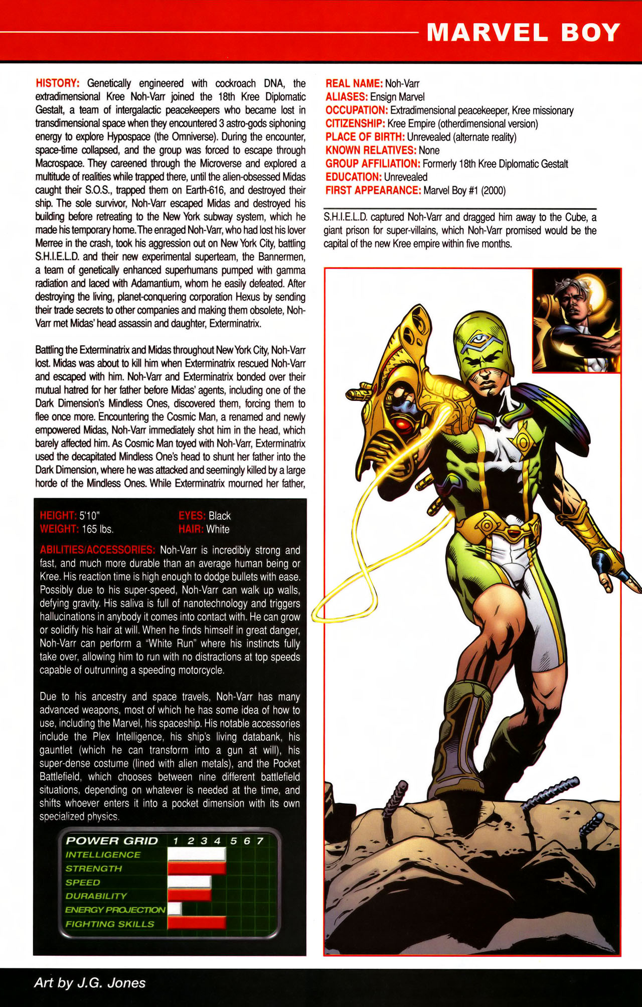 Read online All-New Official Handbook of the Marvel Universe A to Z comic -  Issue #7 - 13