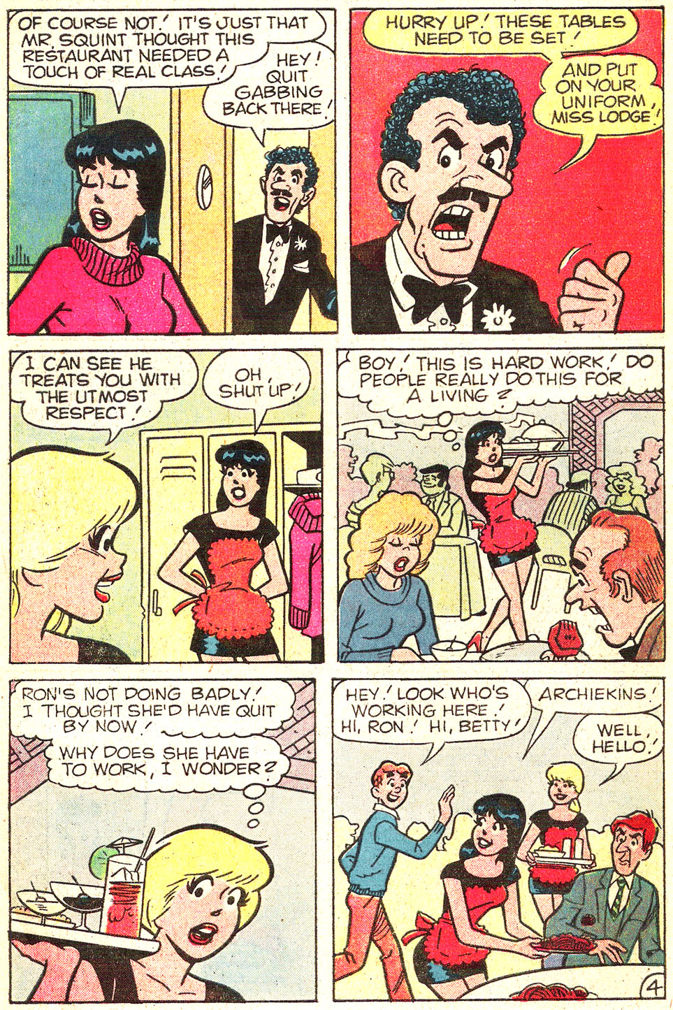 Read online Archie's Girls Betty and Veronica comic -  Issue #313 - 6
