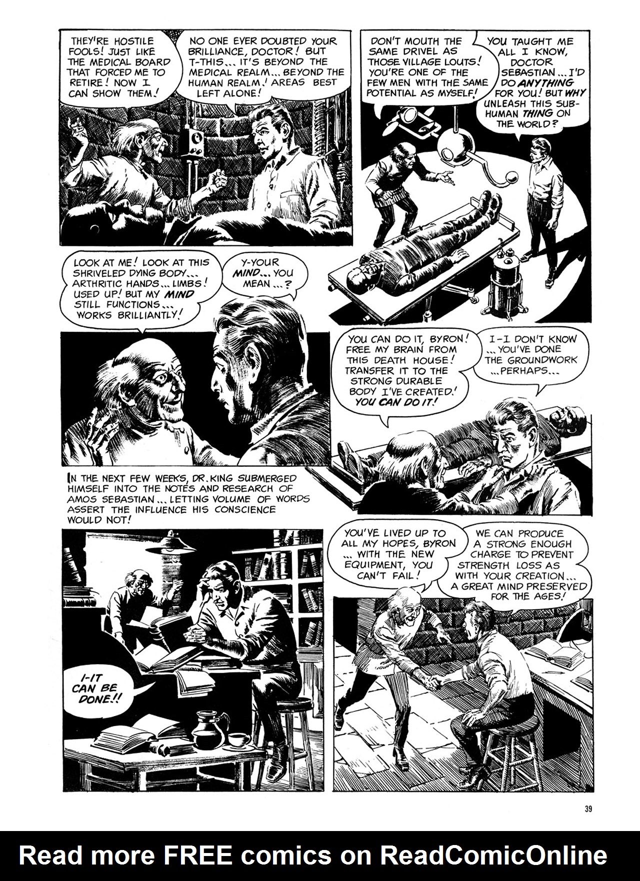 Read online Eerie Archives comic -  Issue # TPB 1 - 40