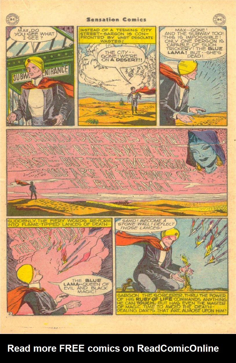 Read online Sensation (Mystery) Comics comic -  Issue #70 - 28