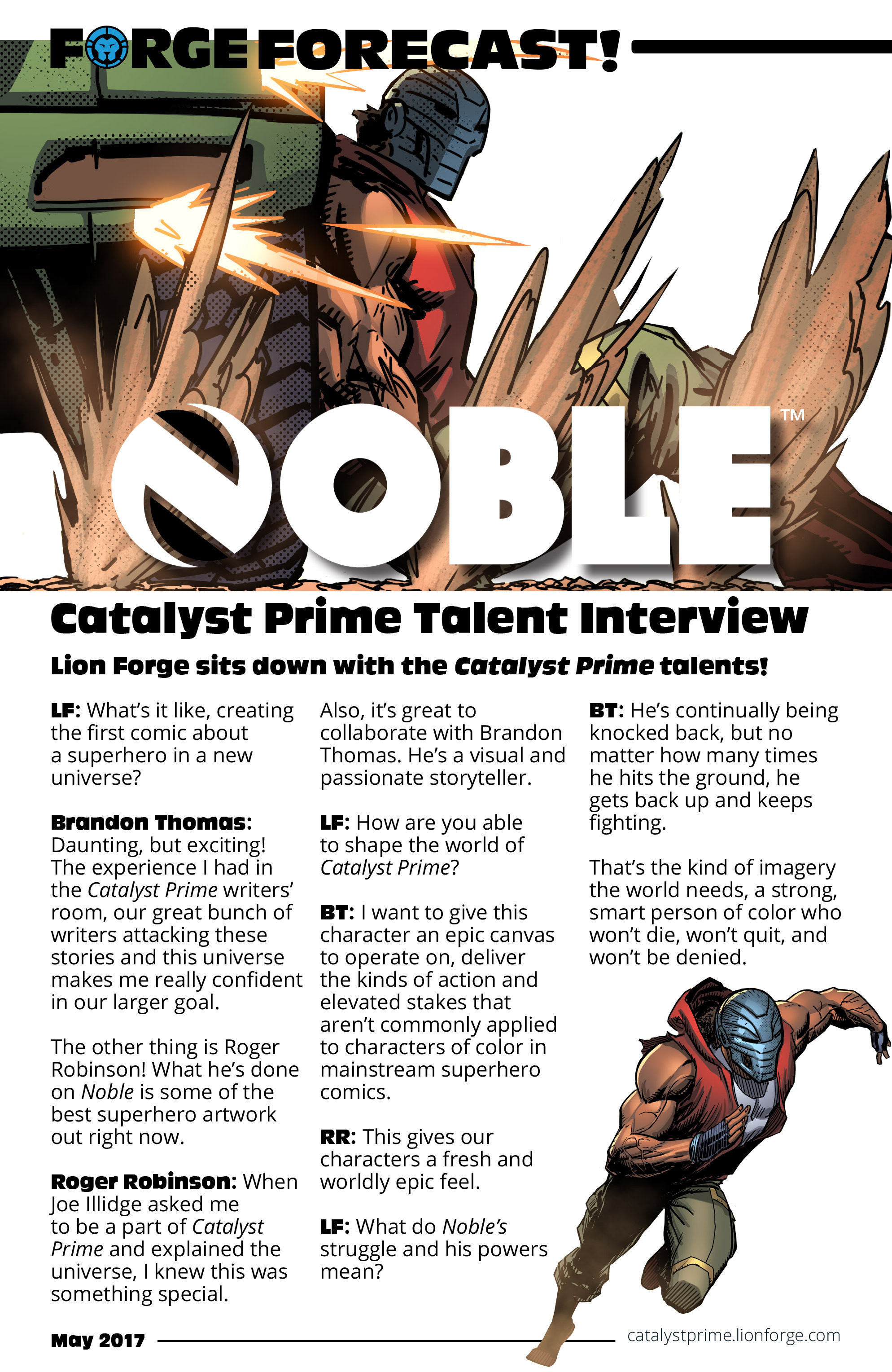 Read online Noble comic -  Issue #1 - 26
