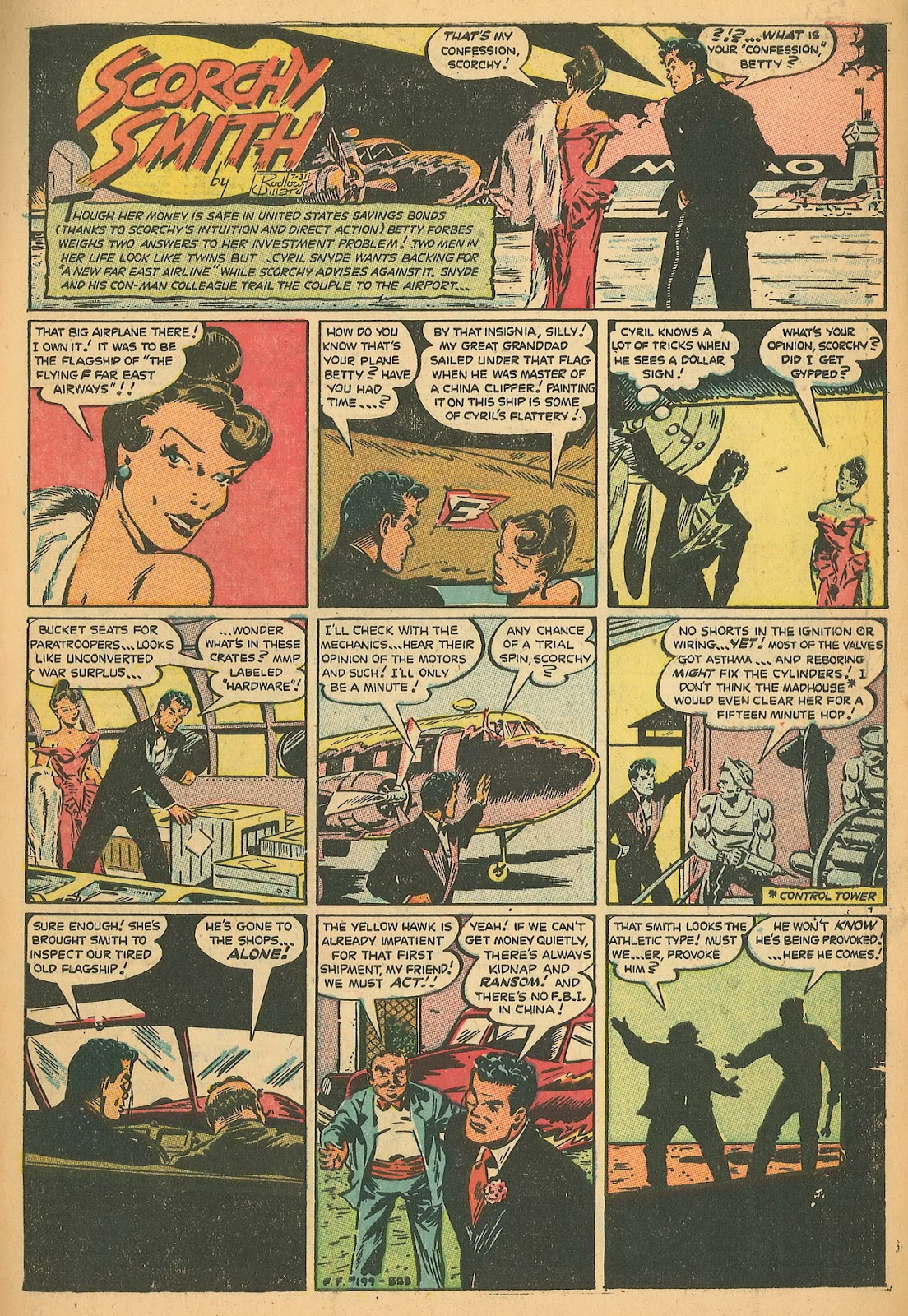 Read online Famous Funnies comic -  Issue #199 - 3