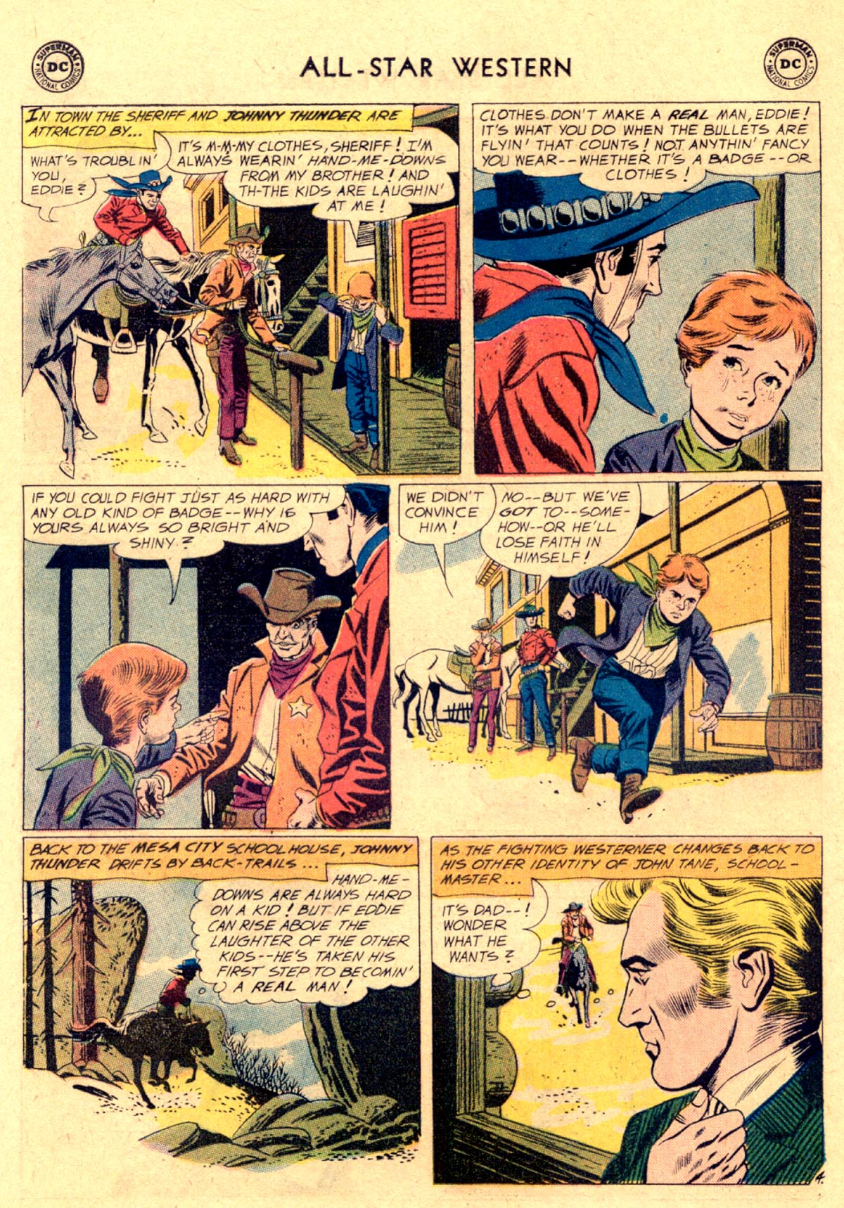 Read online All-Star Western (1951) comic -  Issue #112 - 6