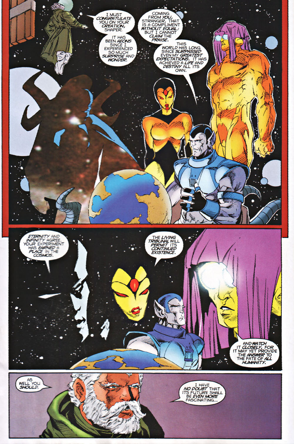 Read online Avataars: Covenant of the Shield comic -  Issue #3 - 22