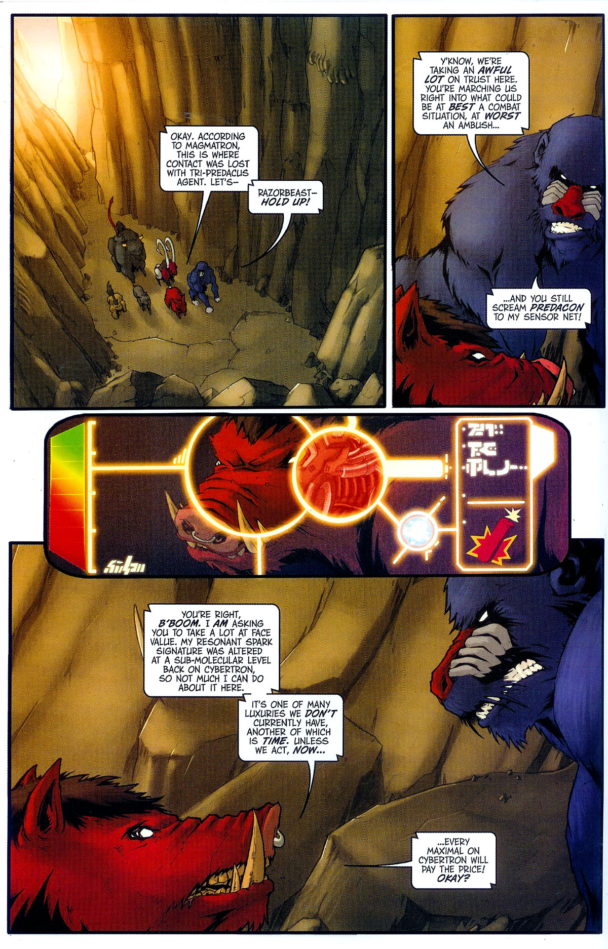 Read online Transformers, Beast Wars: The Gathering comic -  Issue #2 - 11