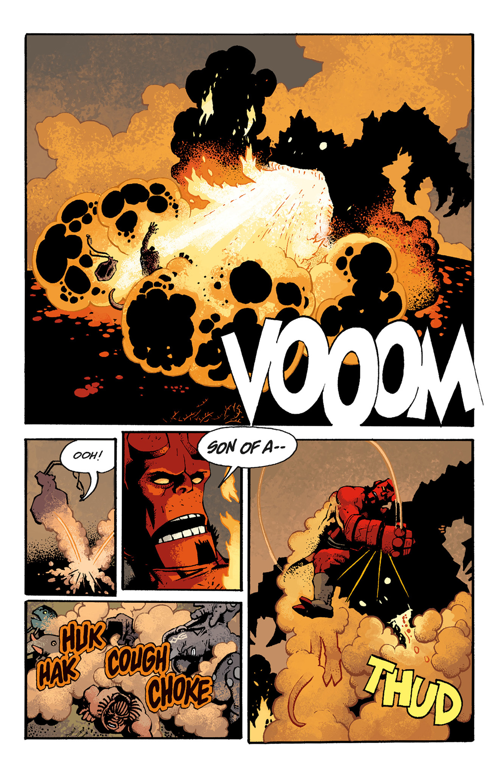 Read online Hellboy: The Troll Witch and Others comic -  Issue # TPB - 103