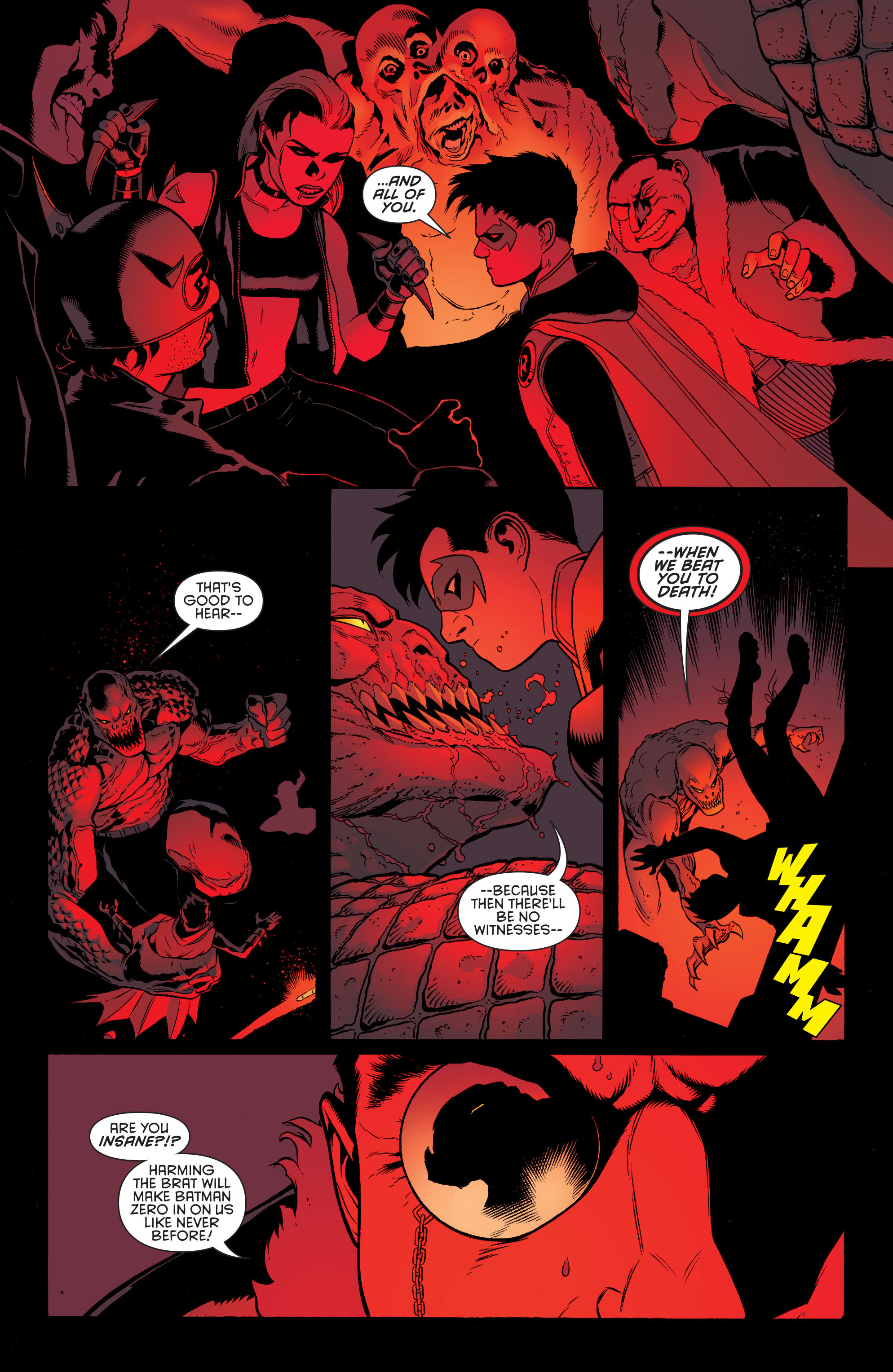 Read online Batman and Robin (2011) comic -  Issue #39 - 4