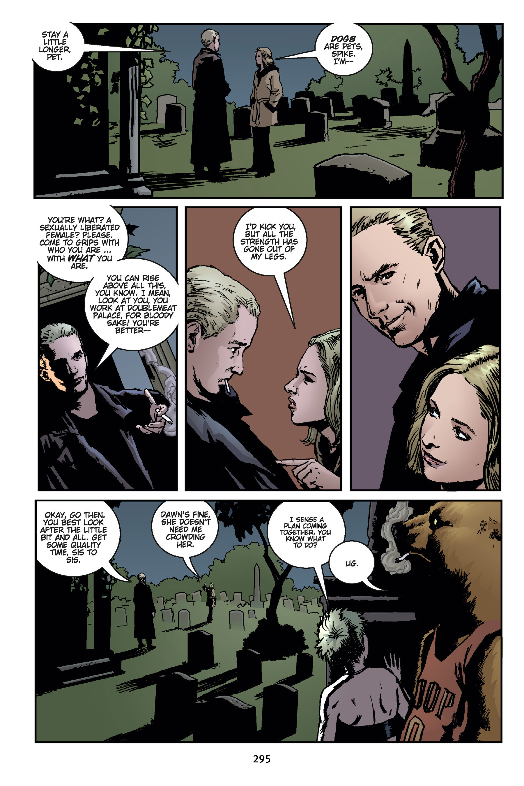 Read online Buffy the Vampire Slayer: Omnibus comic -  Issue # TPB 7 - 293