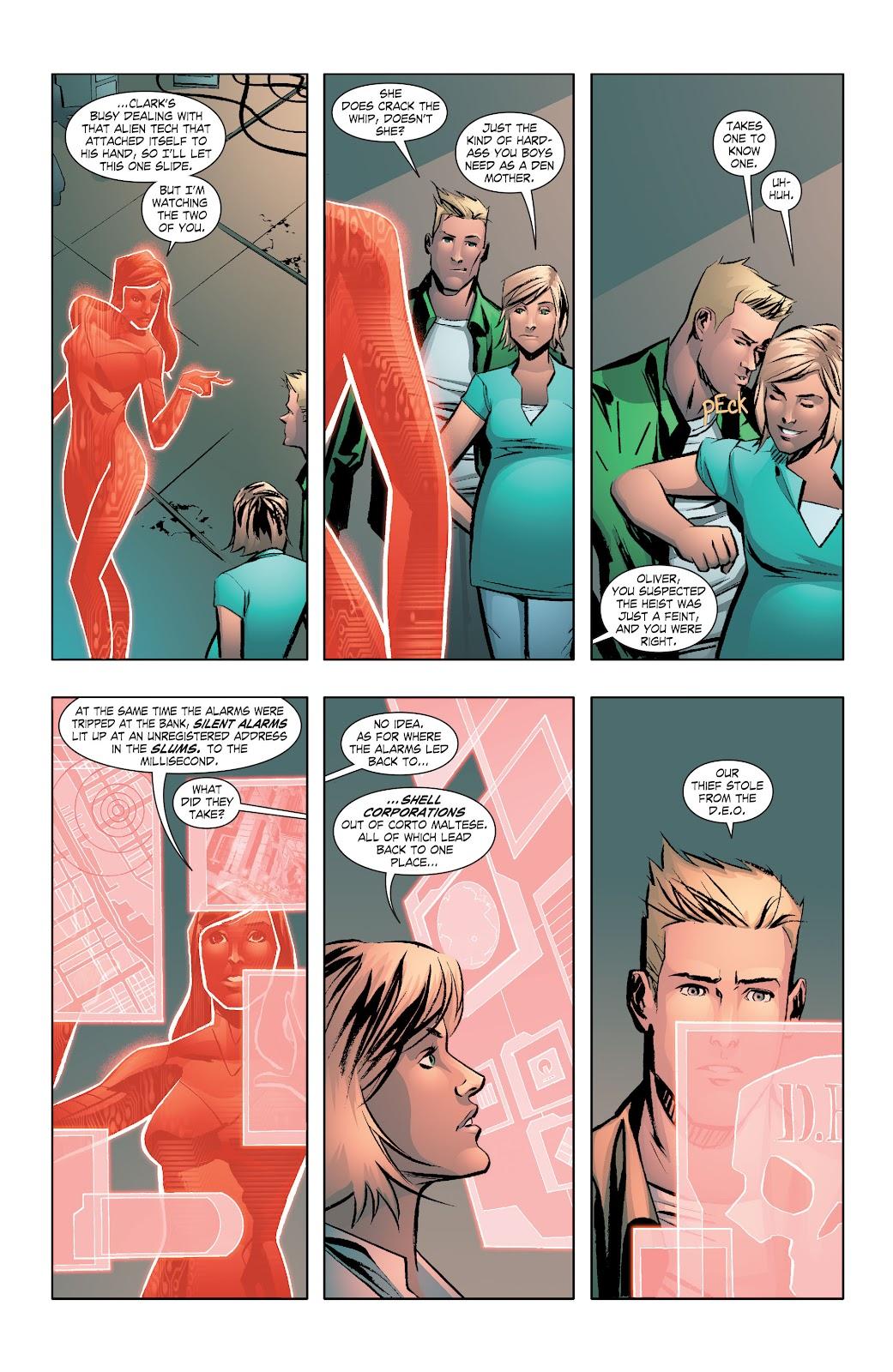 Read online Smallville Season 11 [II] comic -  Issue # TPB 7 - 44