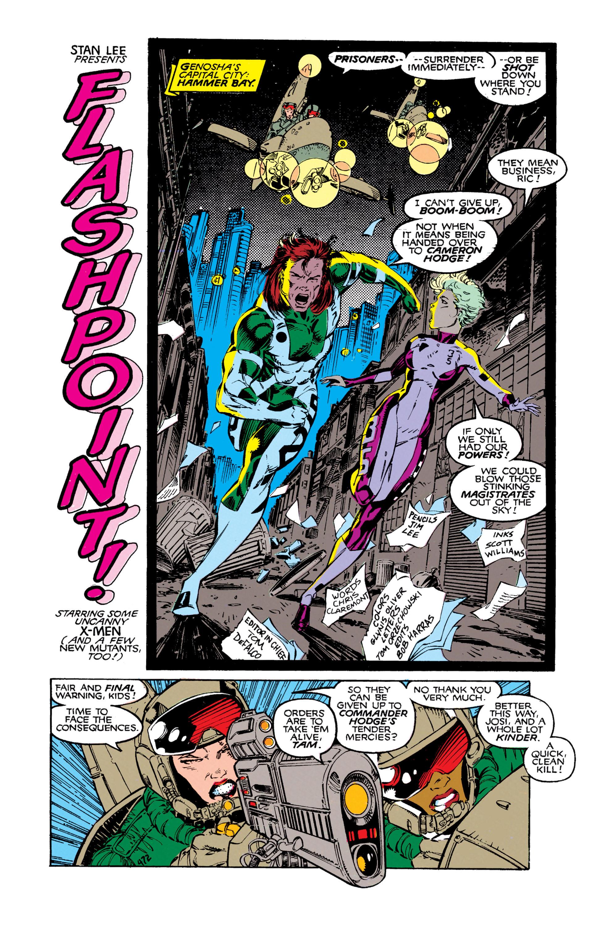 Read online Uncanny X-Men (1963) comic -  Issue #271 - 3