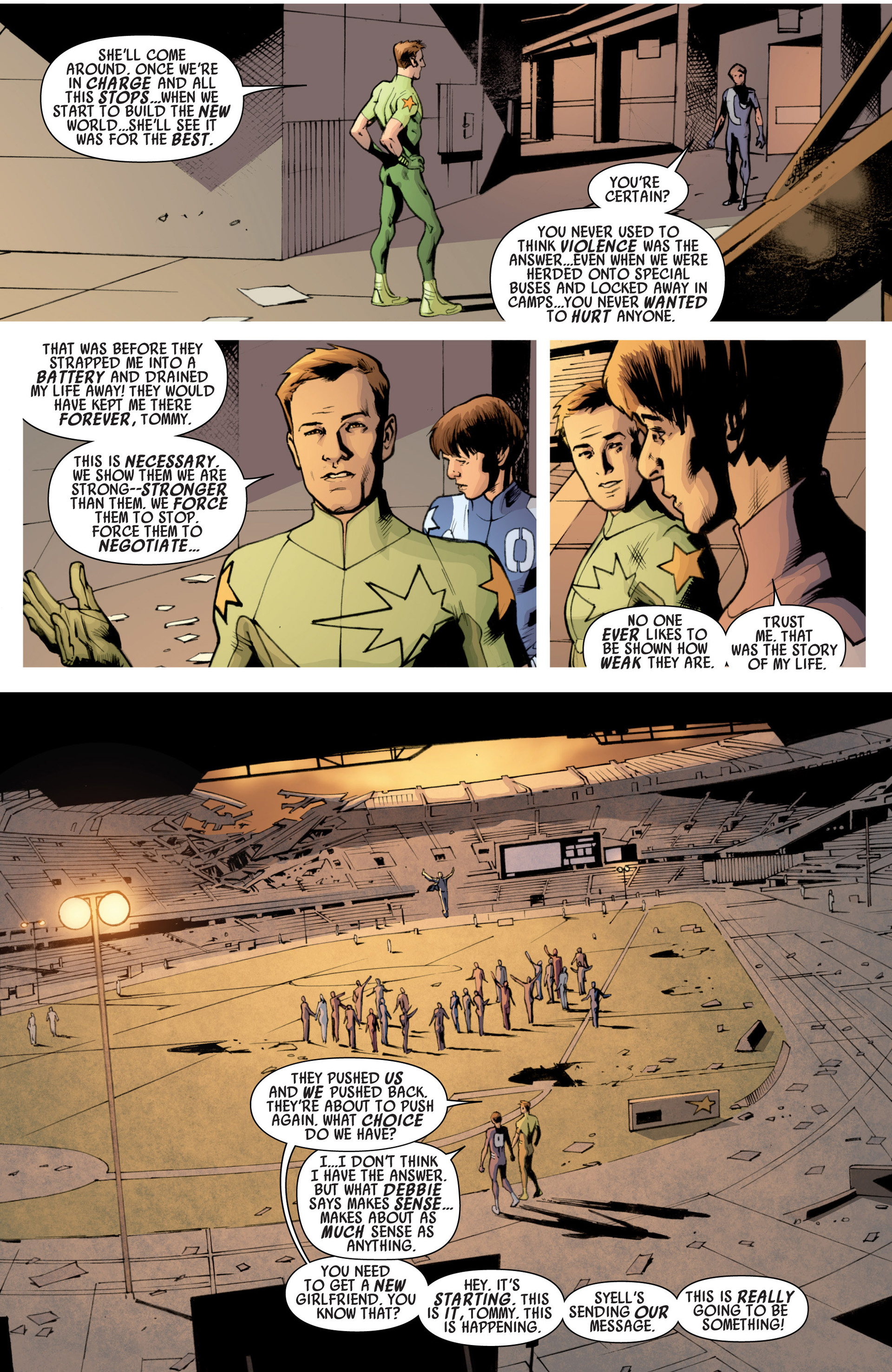 Read online America's Got Powers comic -  Issue #7 - 7