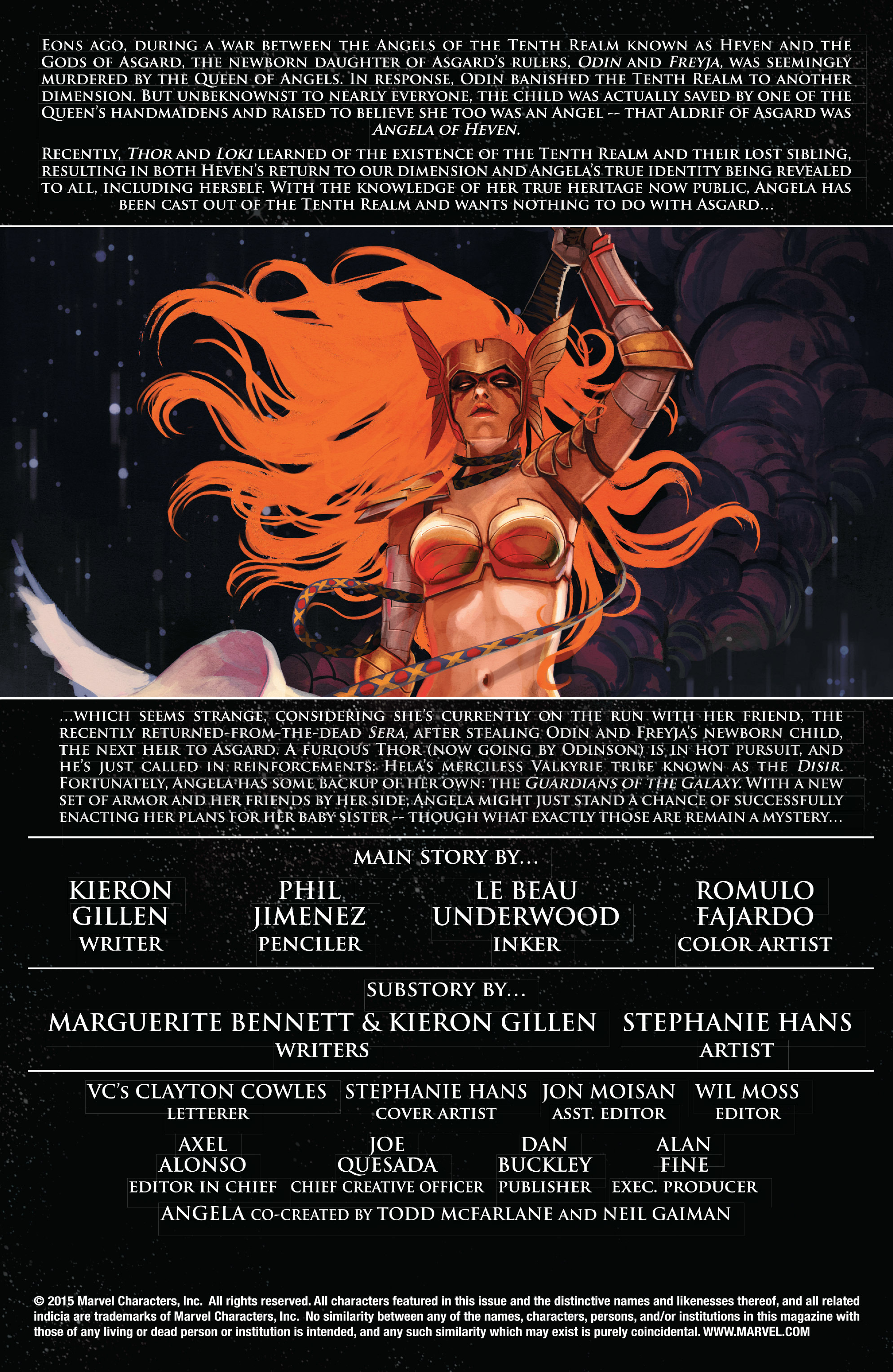 Read online Angela: Asgard's Assassin comic -  Issue #4 - 2