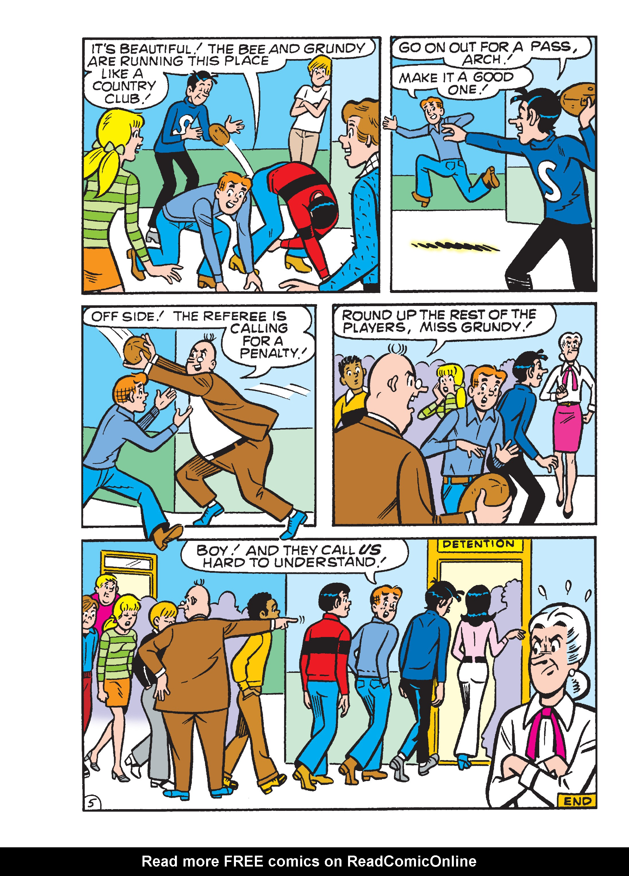Read online Archie's Funhouse Double Digest comic -  Issue #23 - 135