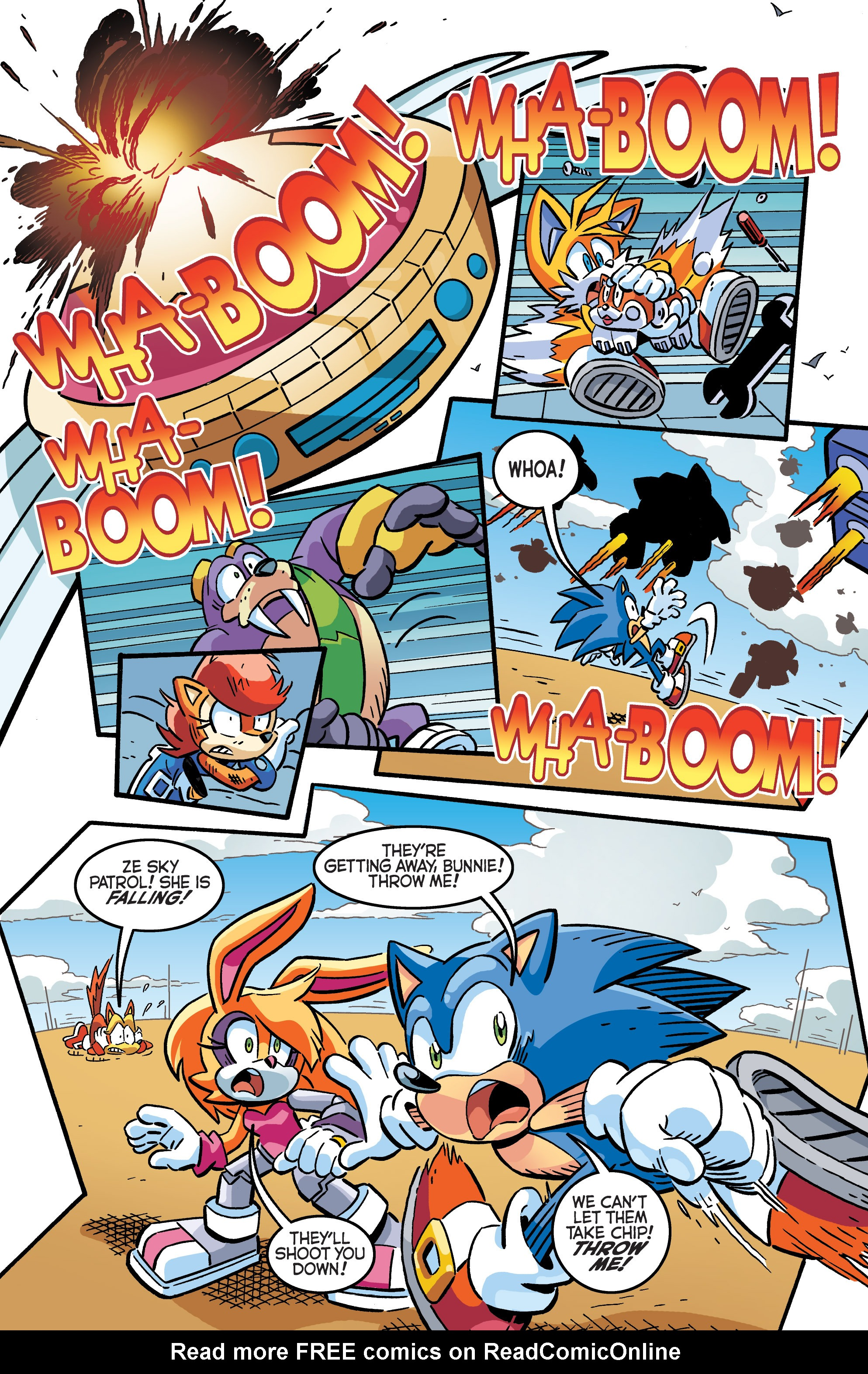 Read online Sonic The Hedgehog comic -  Issue #284 - 20
