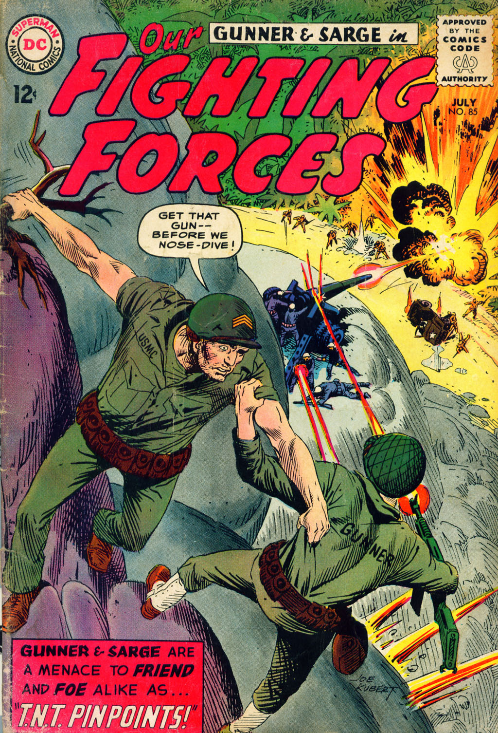 Our Fighting Forces (1954) issue 85 - Page 1