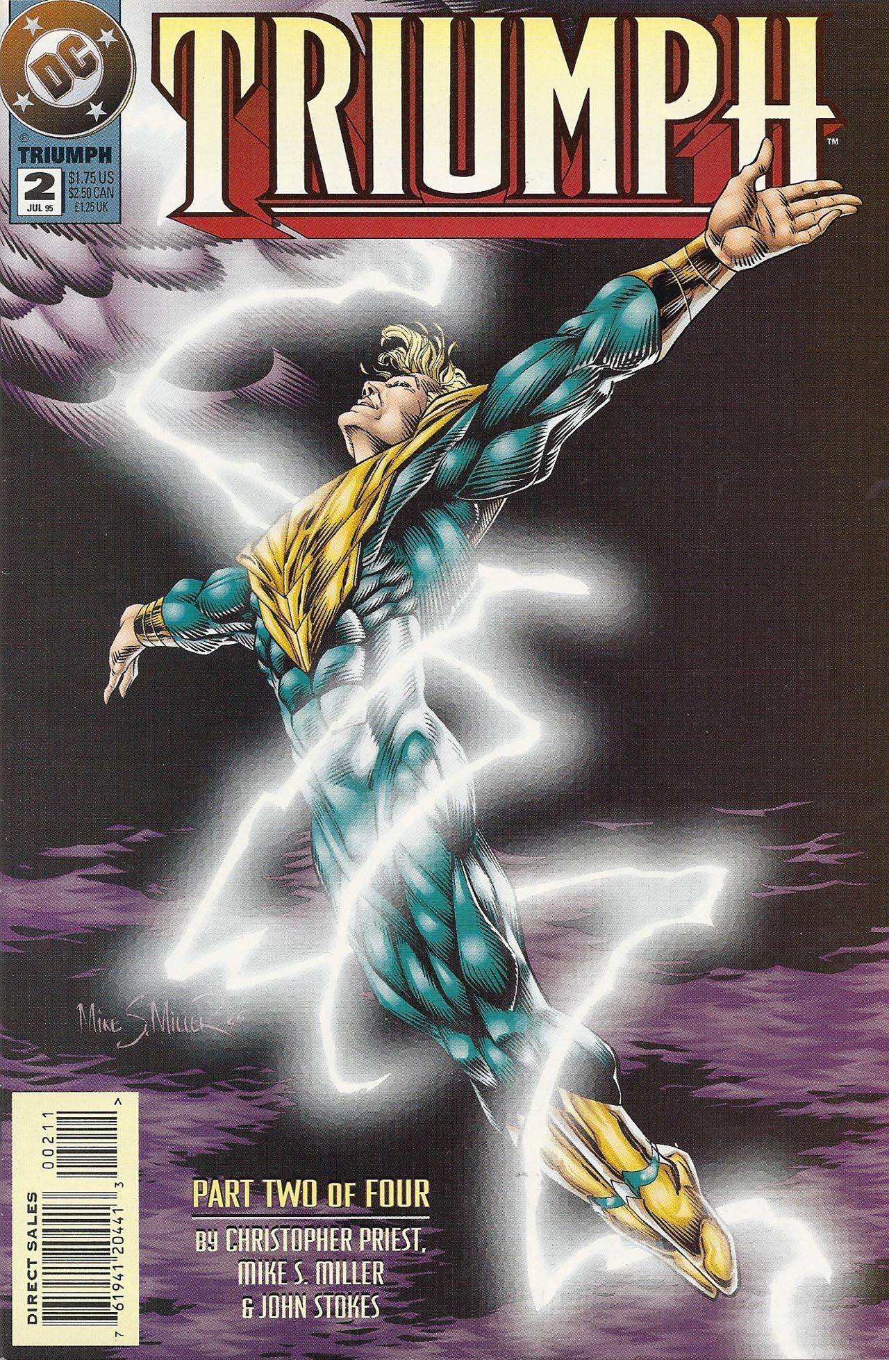 Read online Triumph comic -  Issue #2 - 1