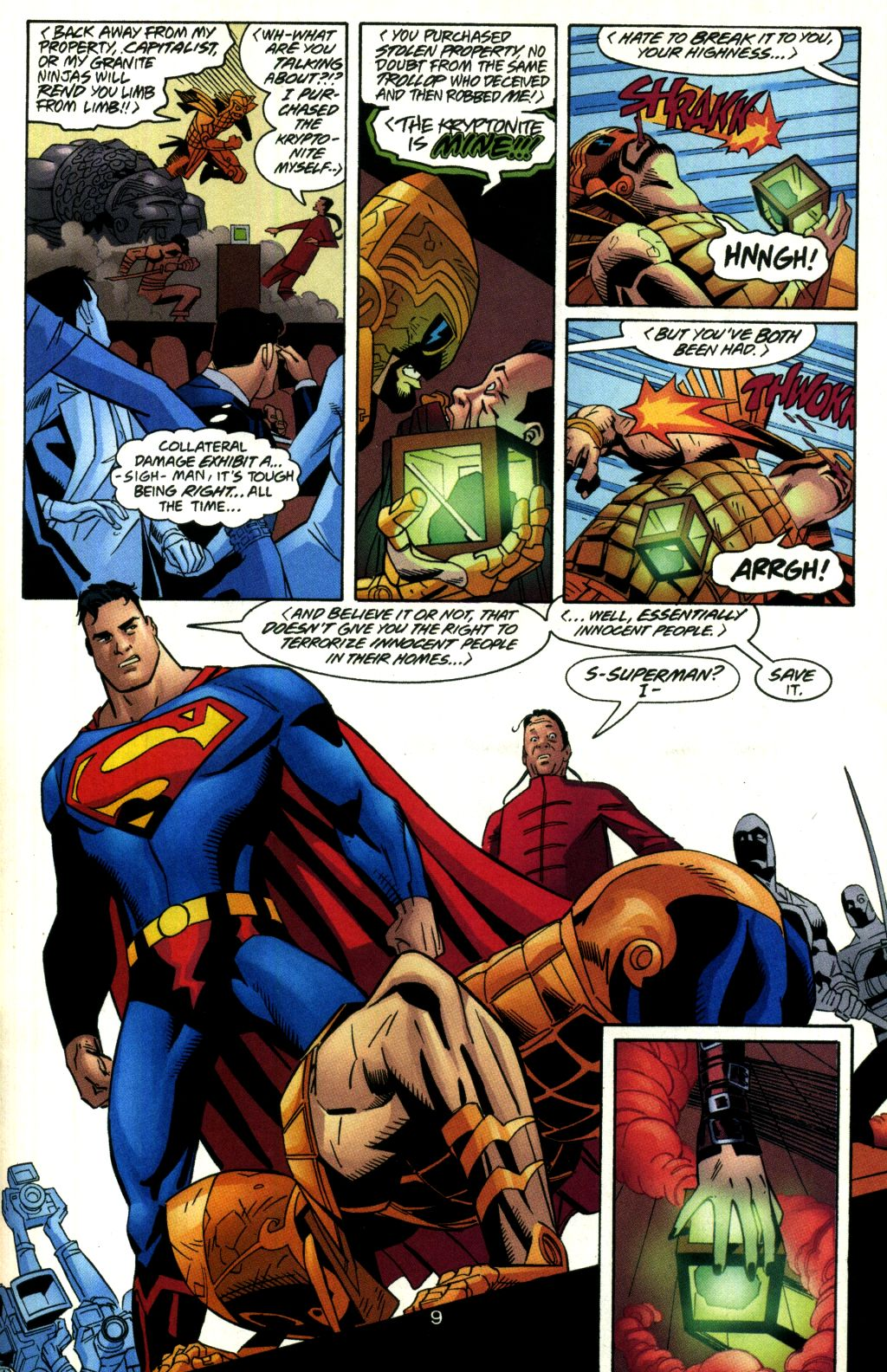Read online Action Comics (1938) comic -  Issue #760 - 10