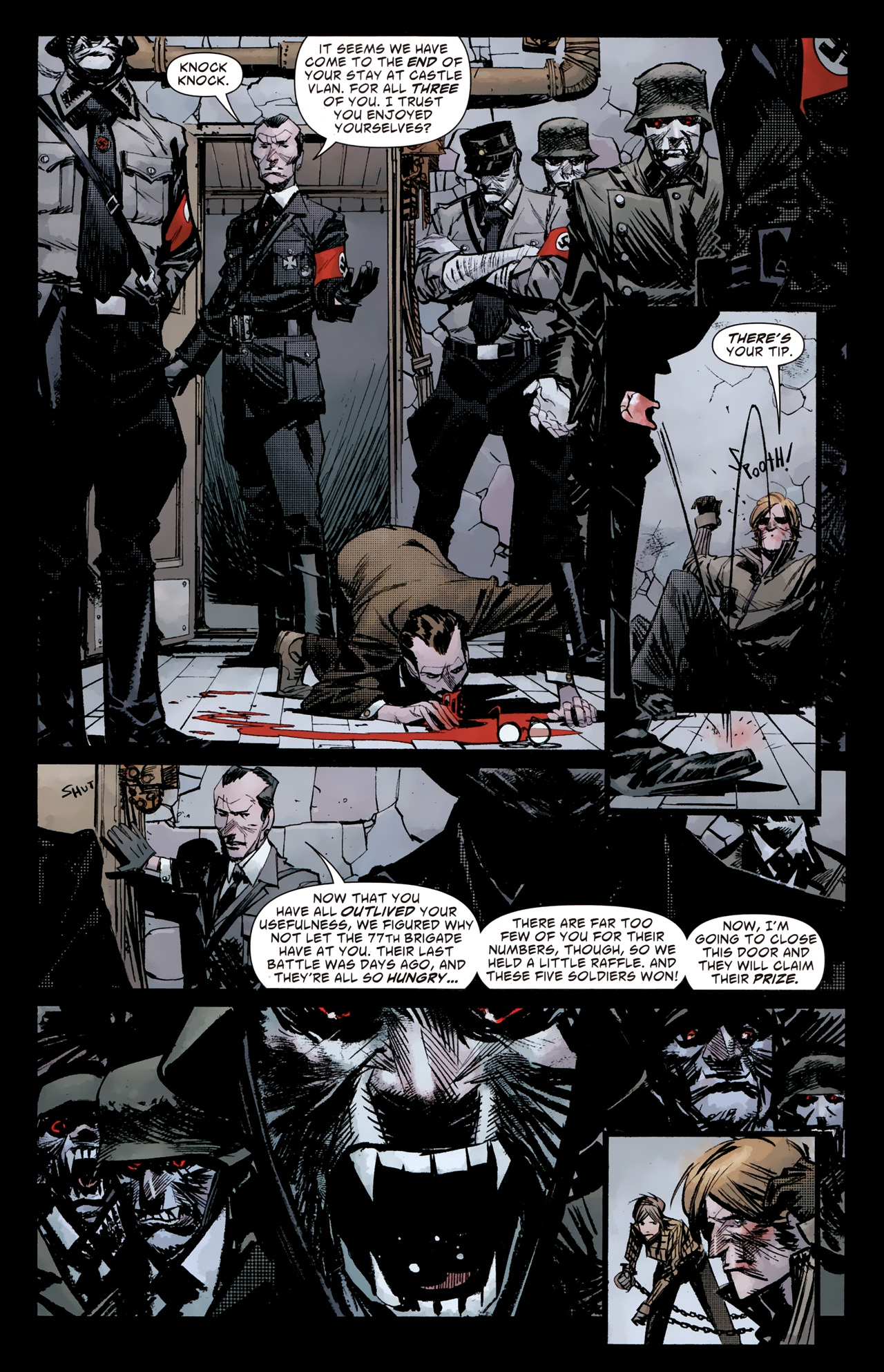 Read online American Vampire: Survival of the Fittest comic -  Issue #4 - 15