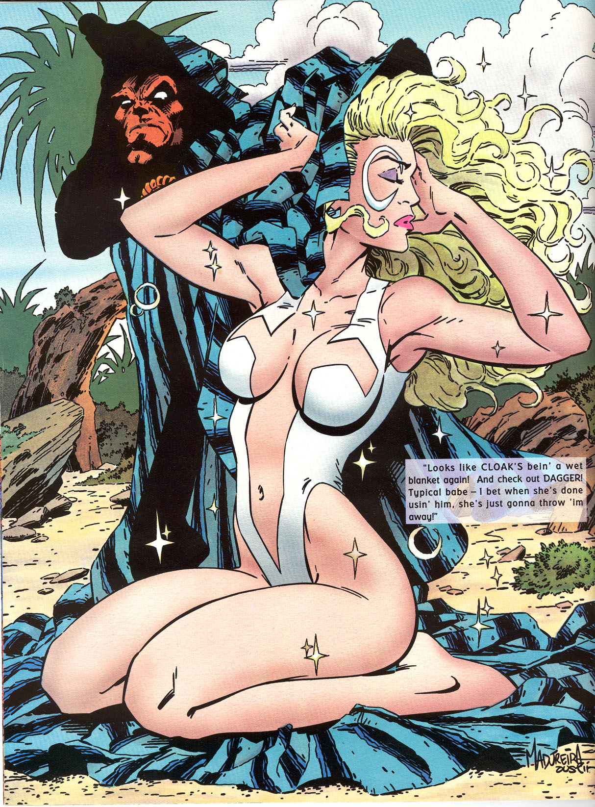 Read online Marvel Swimsuit Special comic -  Issue #2 - 7