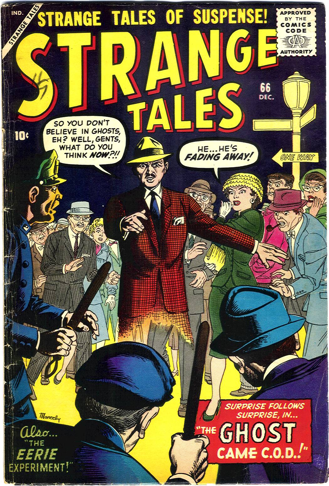 Strange Tales (1951) issue 66 - Page 1
