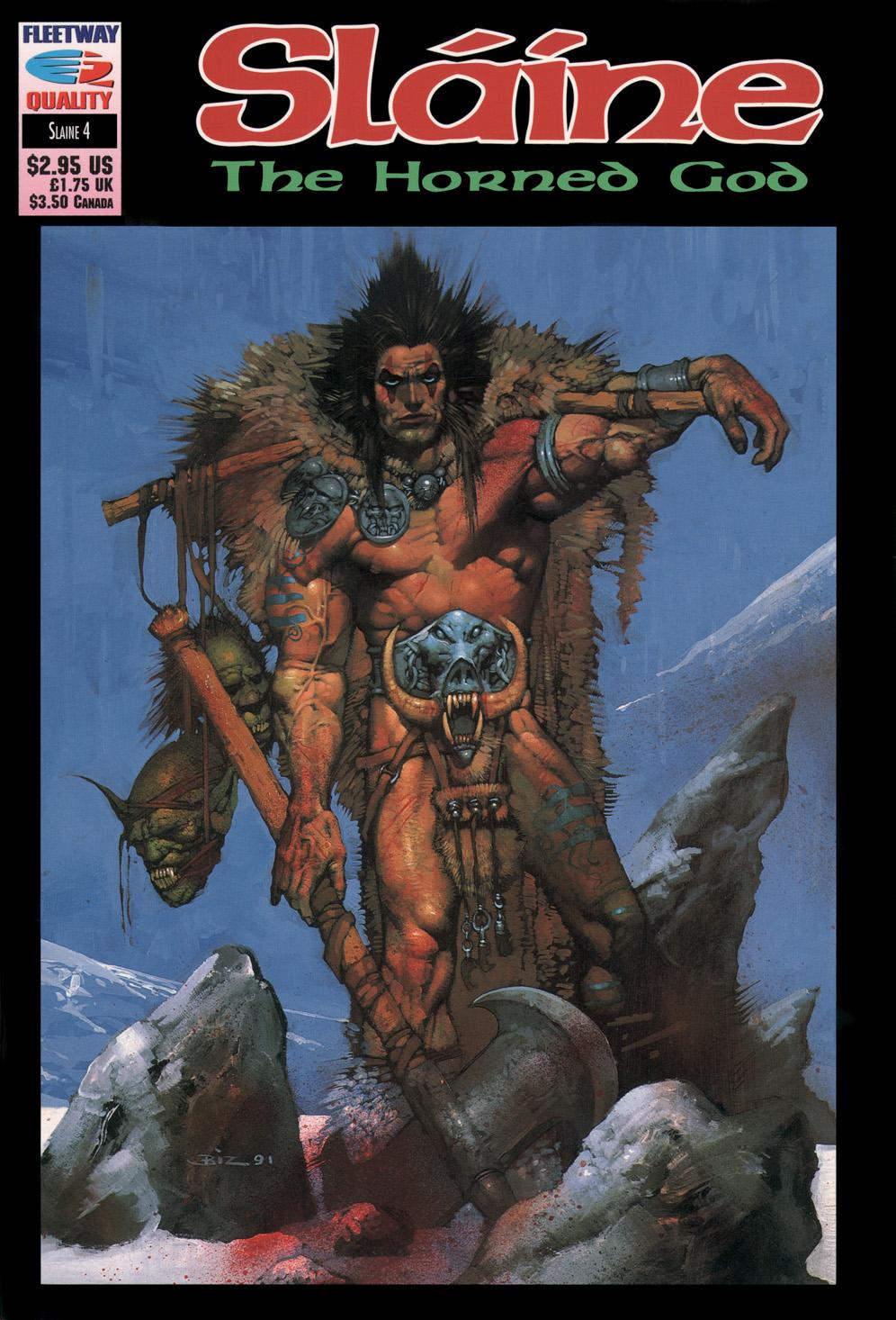 Read online Slaine: The Horned God (1993) comic -  Issue #4 - 1
