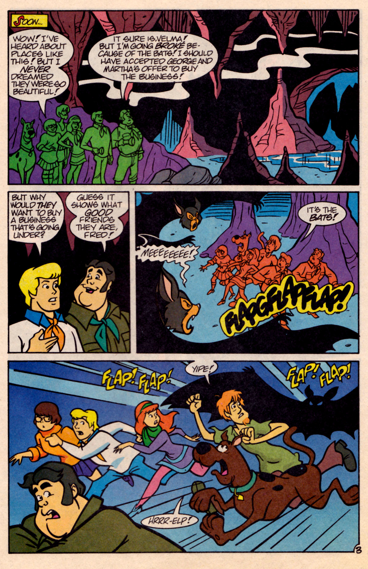 Read online Scooby-Doo (1995) comic -  Issue #18 - 20