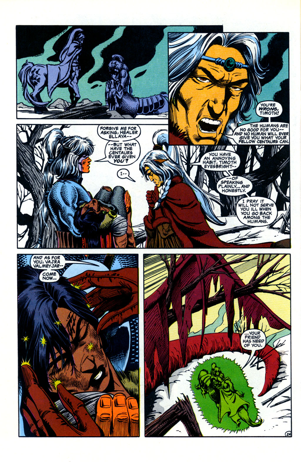 Read online Advanced Dungeons & Dragons comic -  Issue #26 - 22