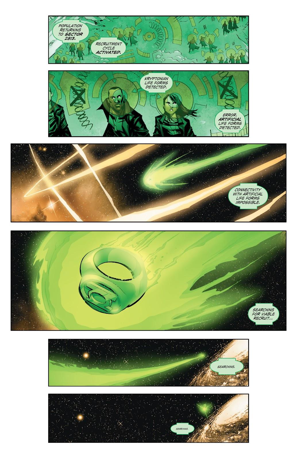 Read online Smallville Season 11 [II] comic -  Issue # TPB 7 - 9