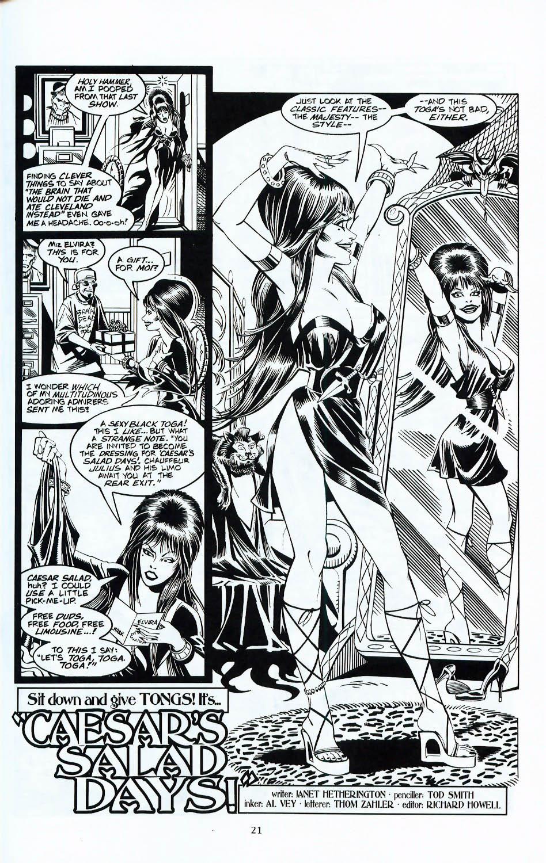Read online Elvira, Mistress of the Dark comic -  Issue #117 - 18