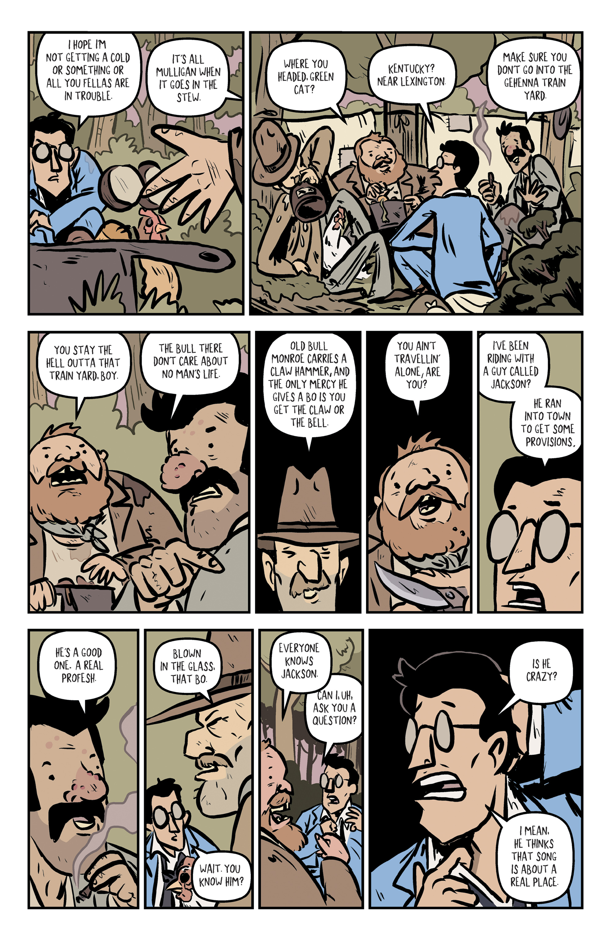 Read online Rock Candy Mountain comic -  Issue #2 - 7