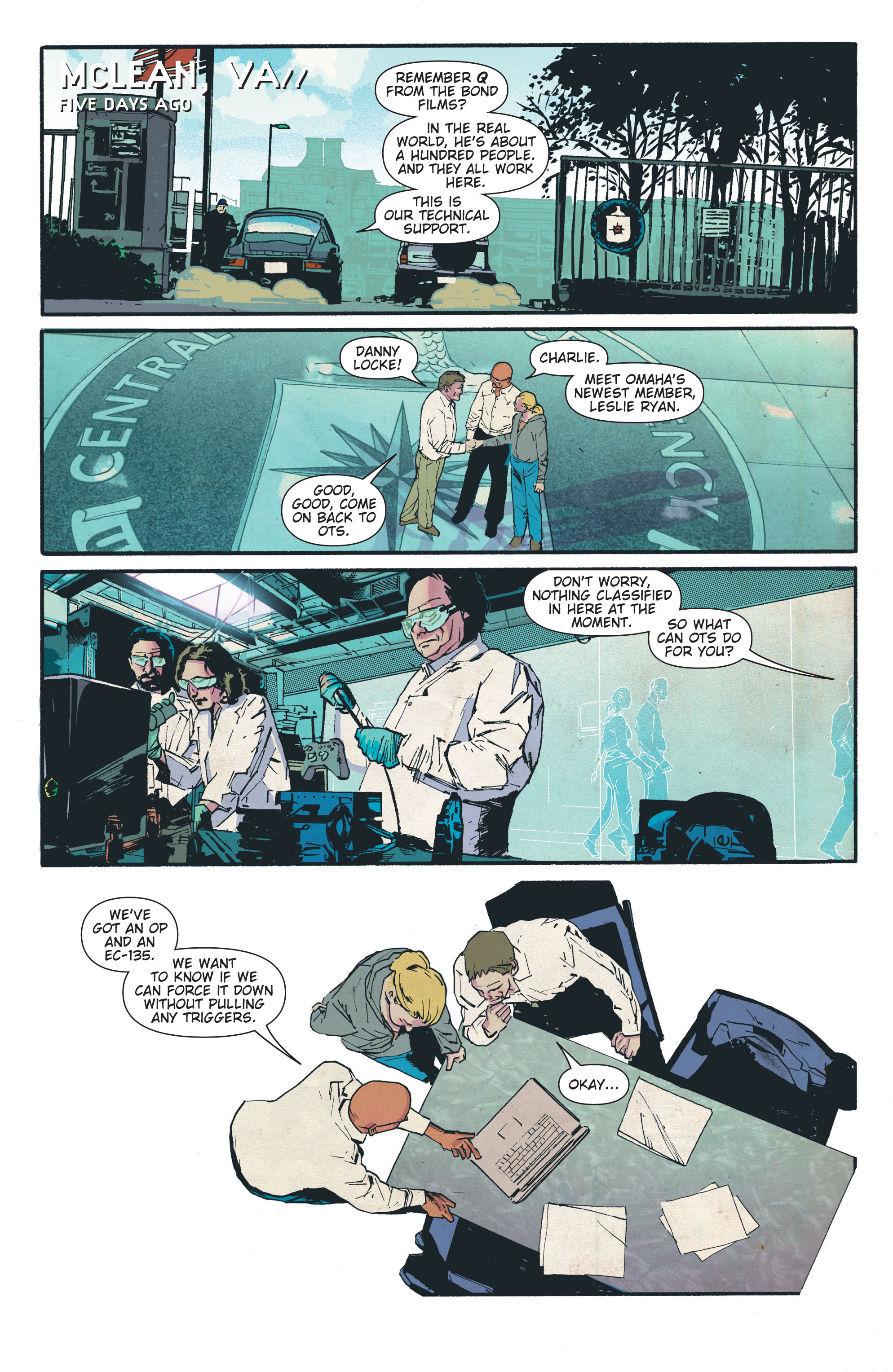 Read online The Activity comic -  Issue #4 - 5