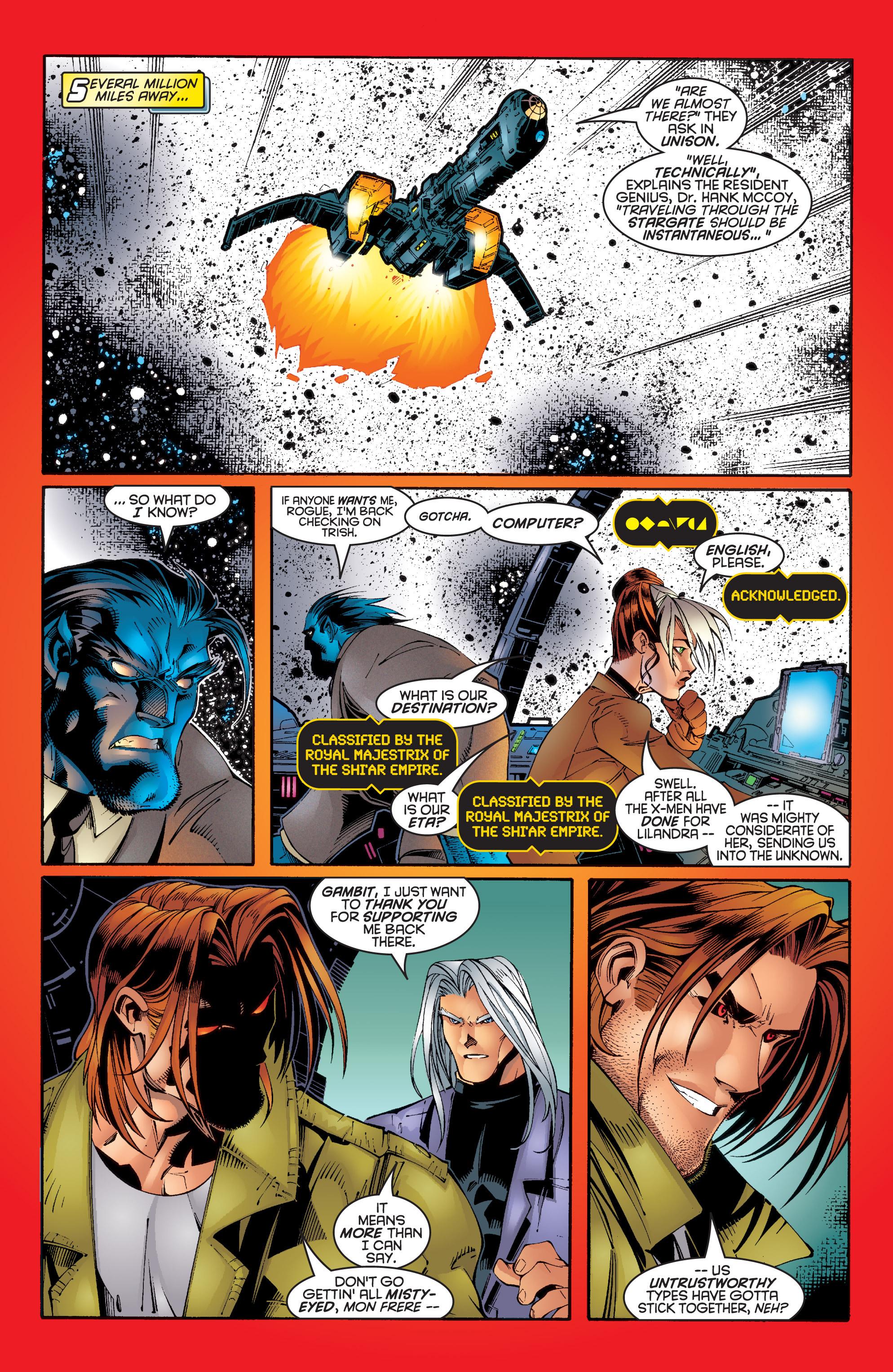 Read online Uncanny X-Men (1963) comic -  Issue #342 - 11
