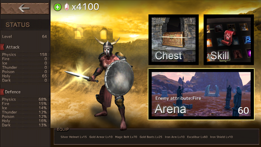 hack game blood arena cho android