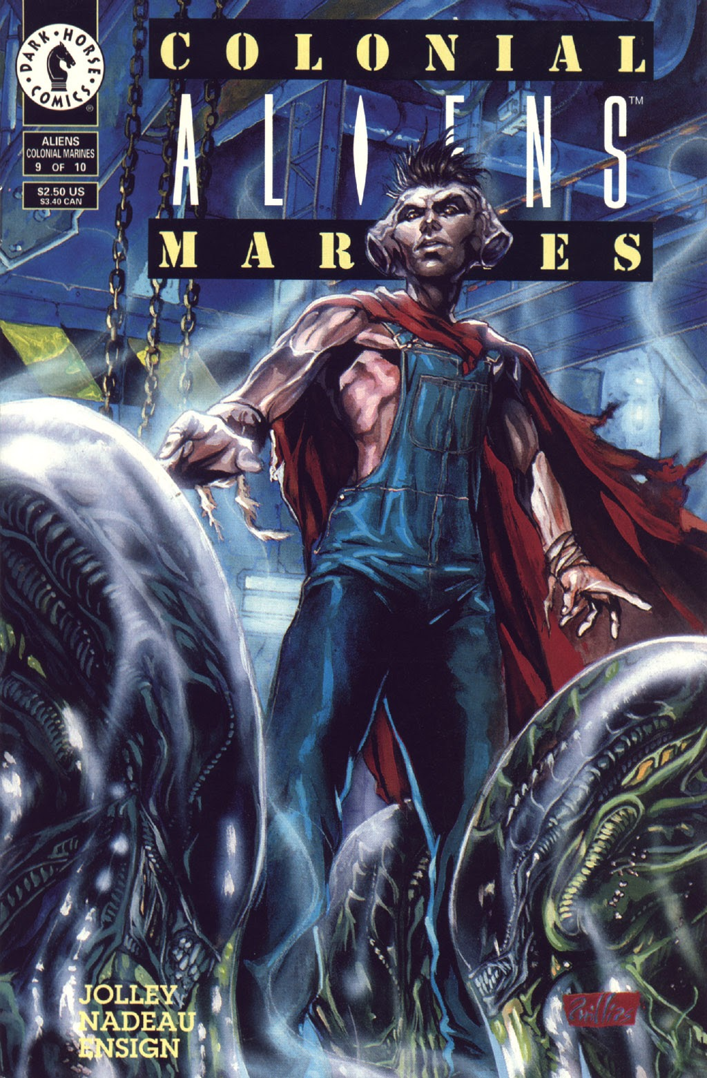 Read online Aliens: Colonial Marines comic -  Issue #9 - 1