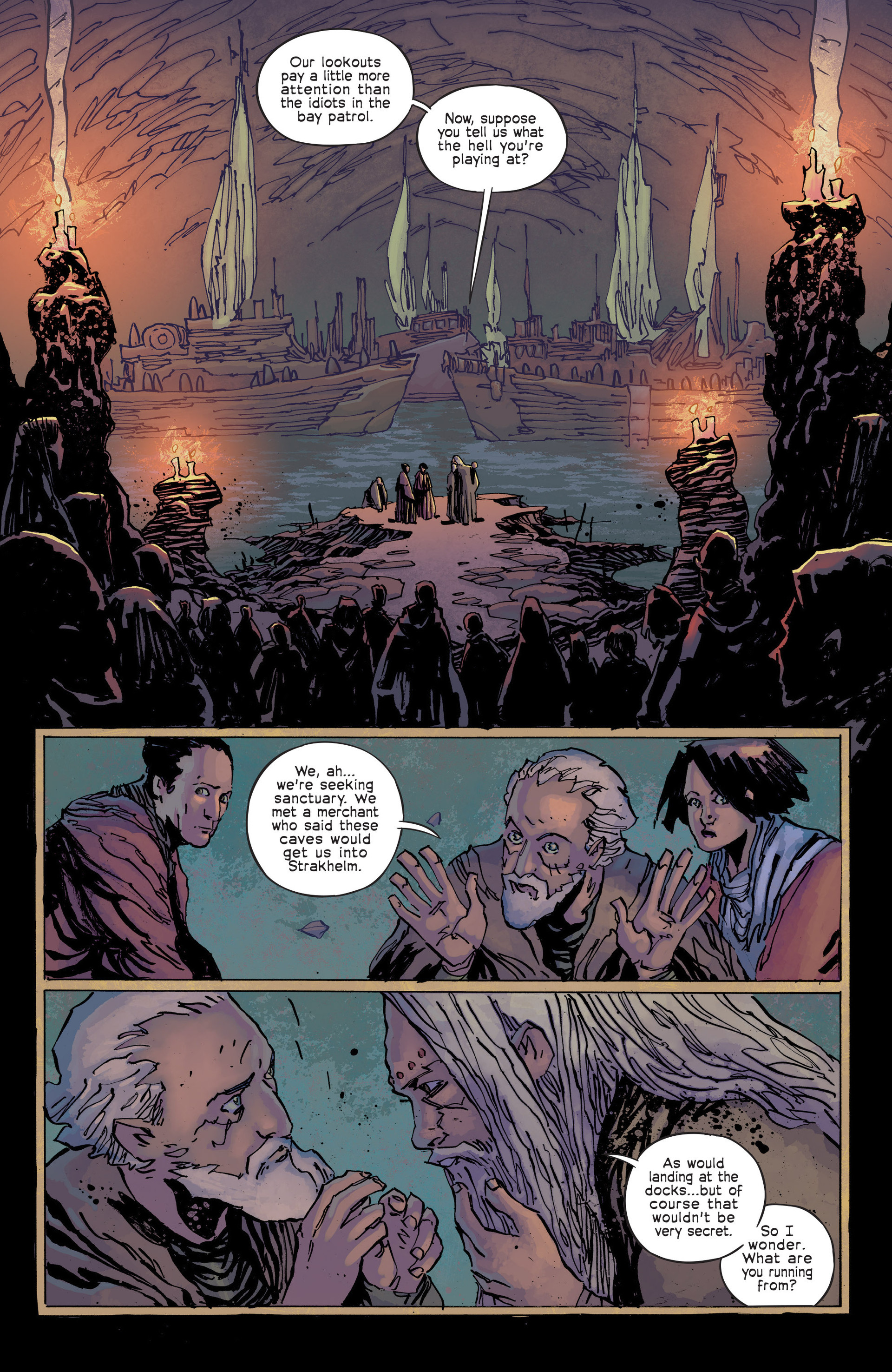 Read online Umbral comic -  Issue #3 - 4