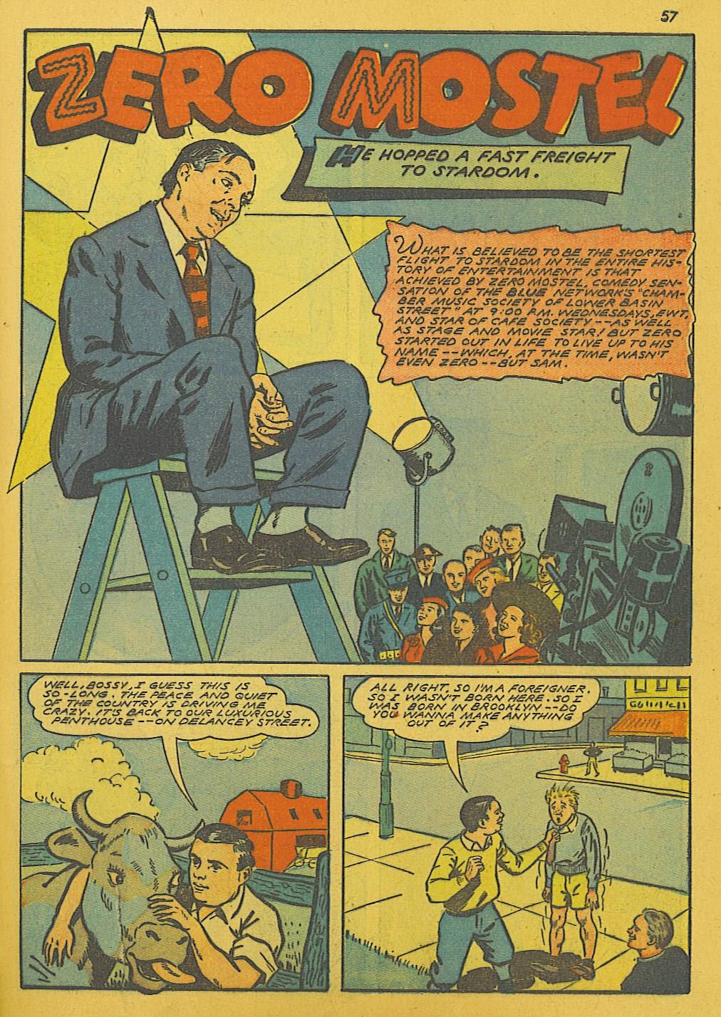 Read online Super-Magician Comics comic -  Issue #10 - 57