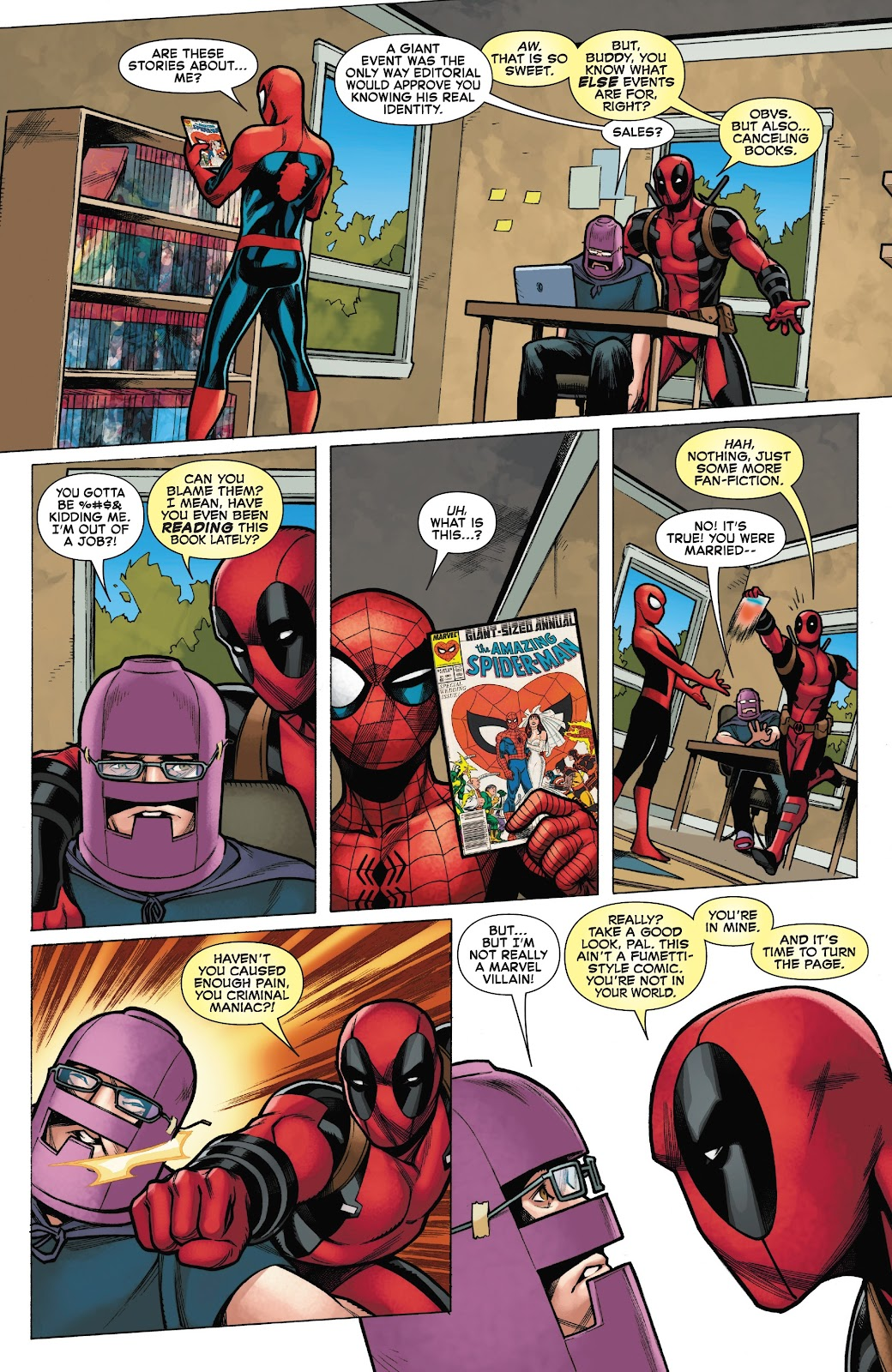 Read online Spider-Man/Deadpool comic -  Issue #50 - 24