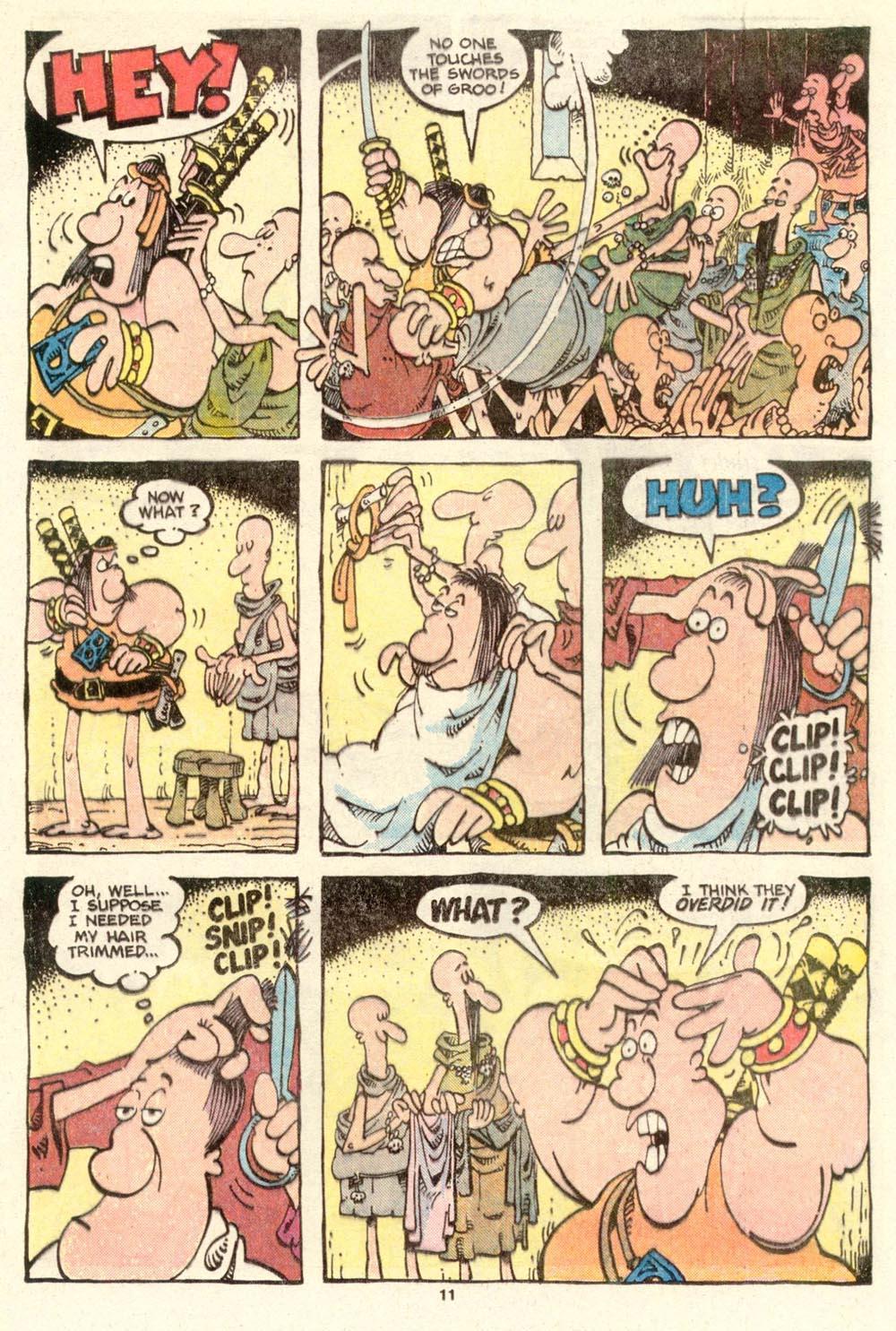 Read online Sergio Aragonés Groo the Wanderer comic -  Issue #15 - 11