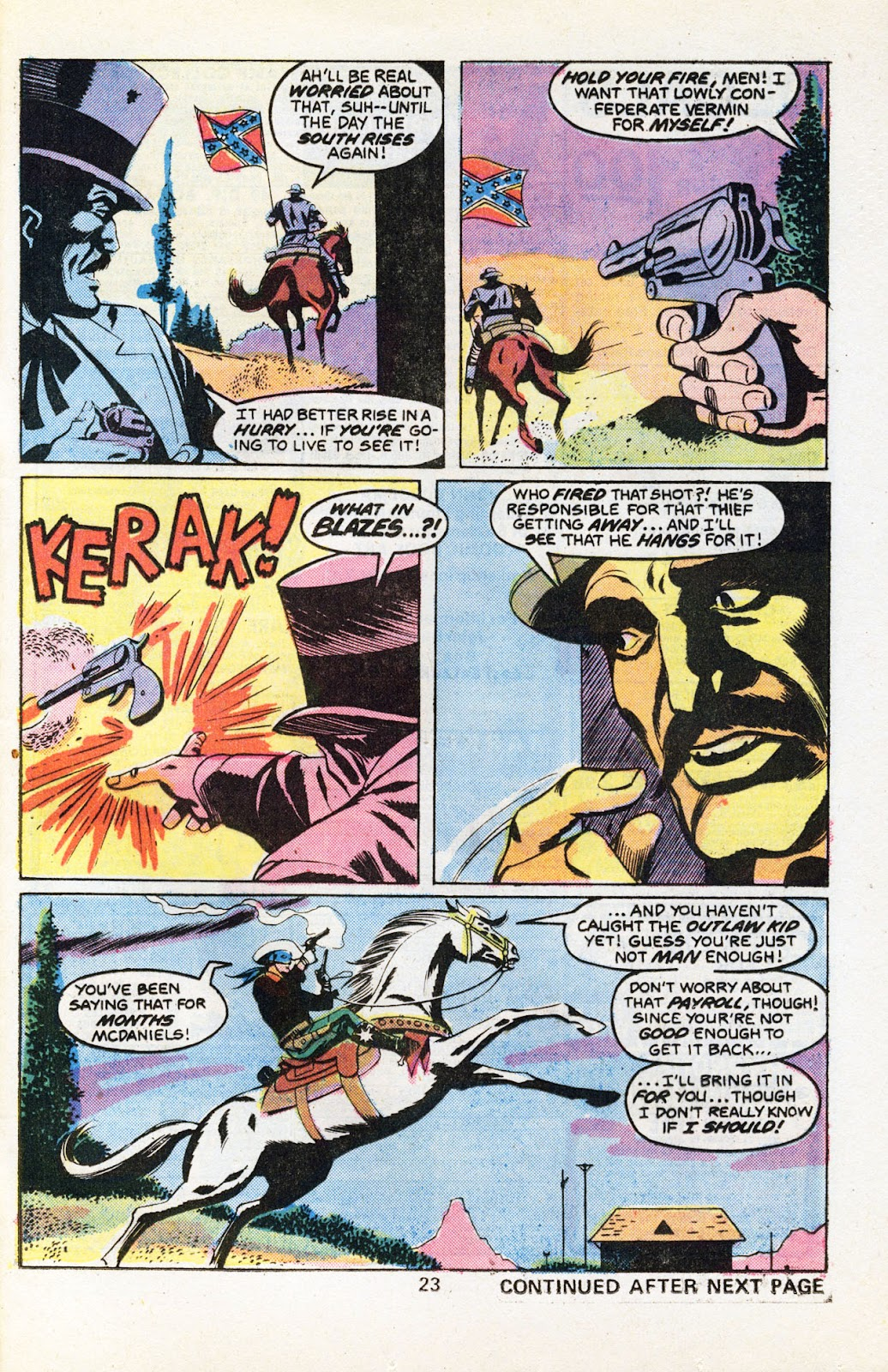 The Outlaw Kid (1970) issue 30 - Page 25