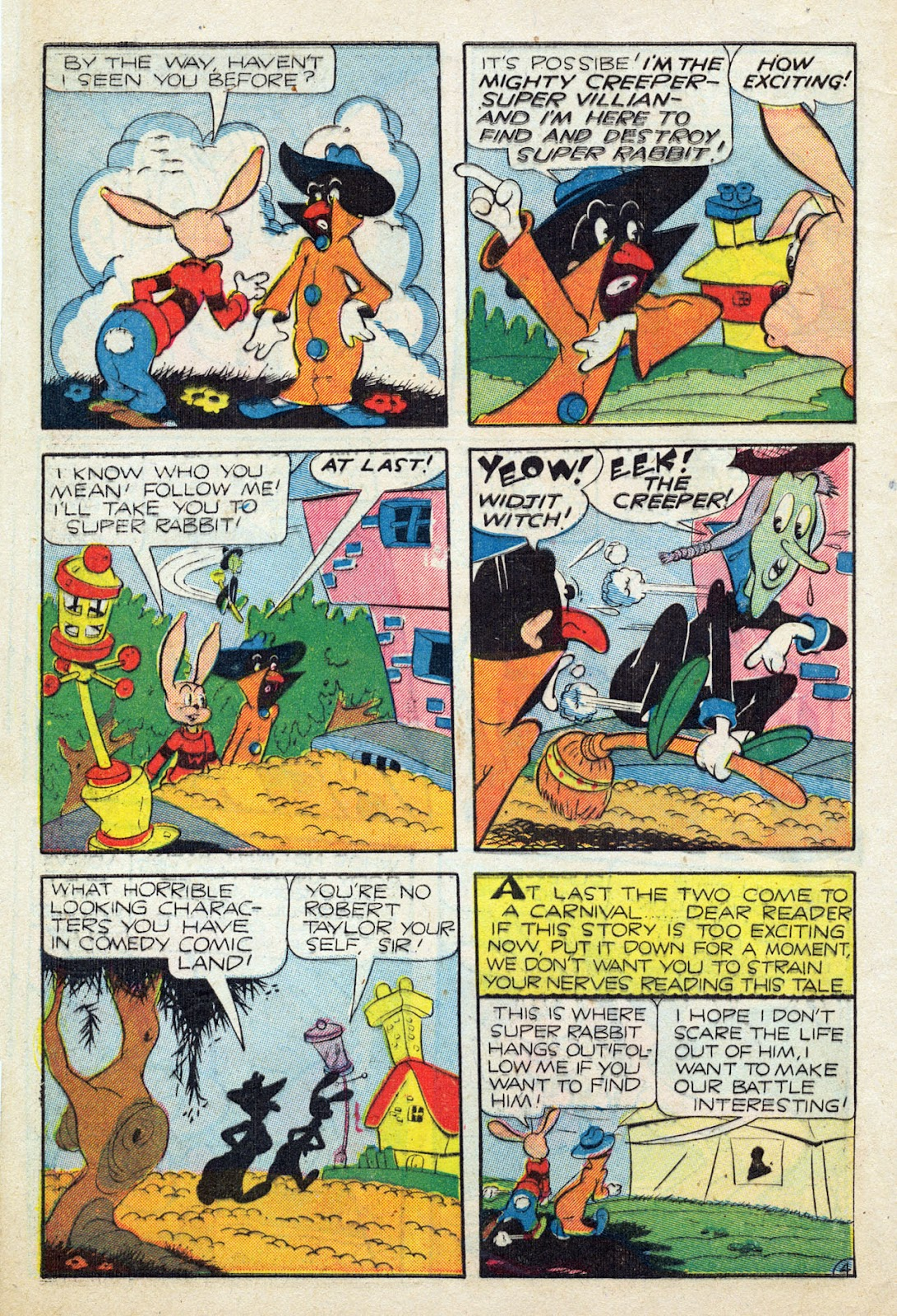 Read online Comedy Comics (1942) comic -  Issue #24 - 5