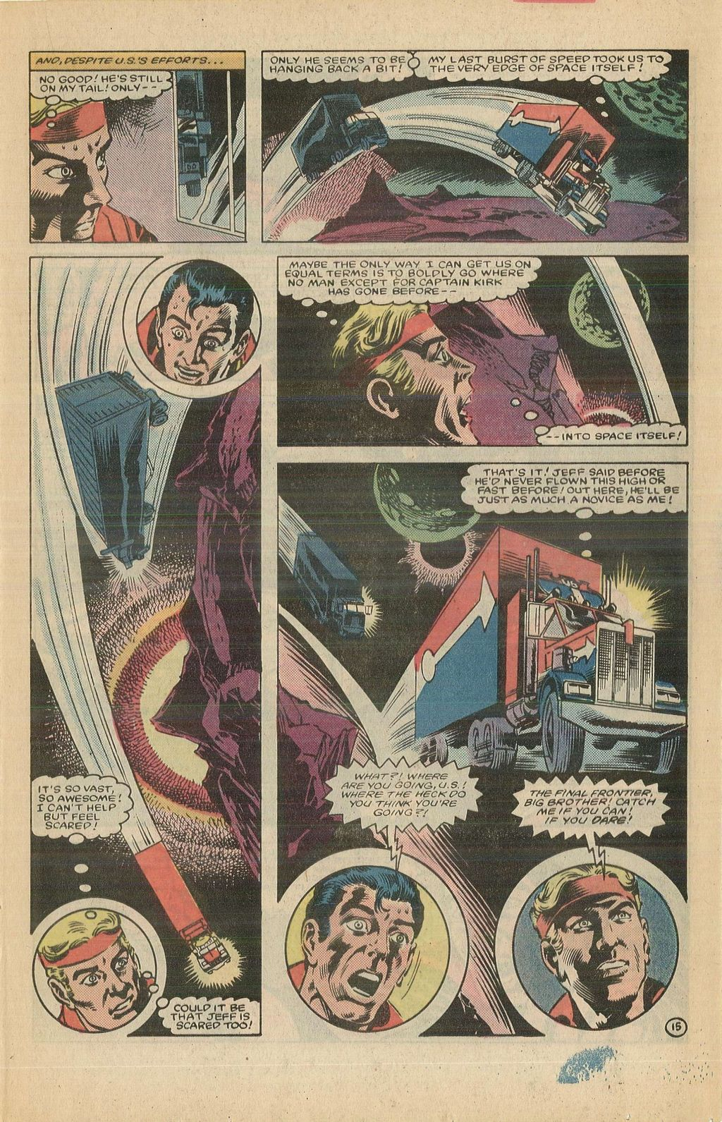 Read online U.S. 1 comic -  Issue #12 - 21